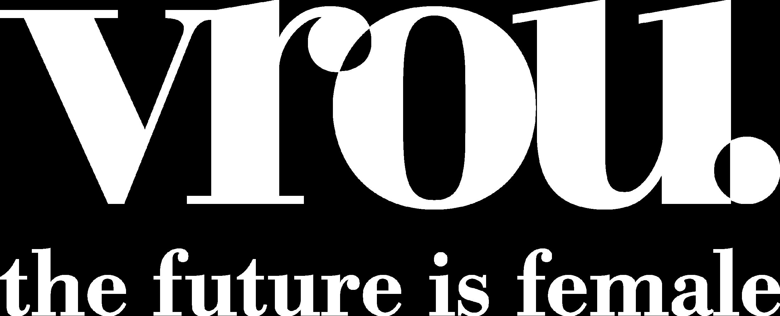Vrou logo wit met slogan.png