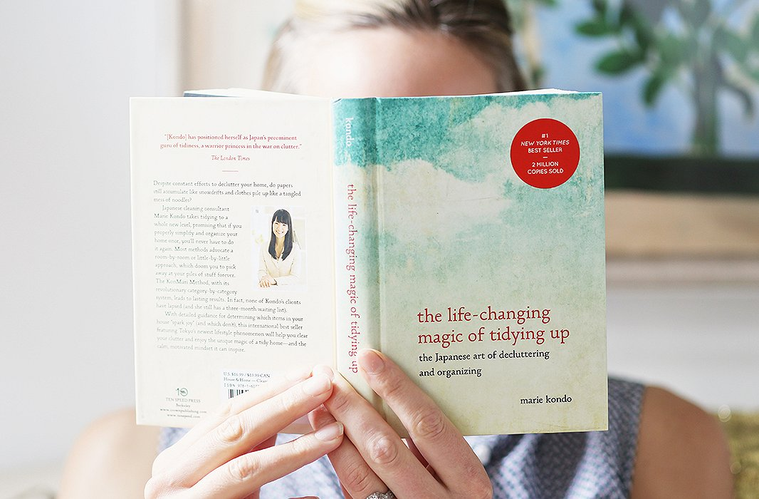 The Life-Changing Magic of Tidying Up - by Marie Kondo