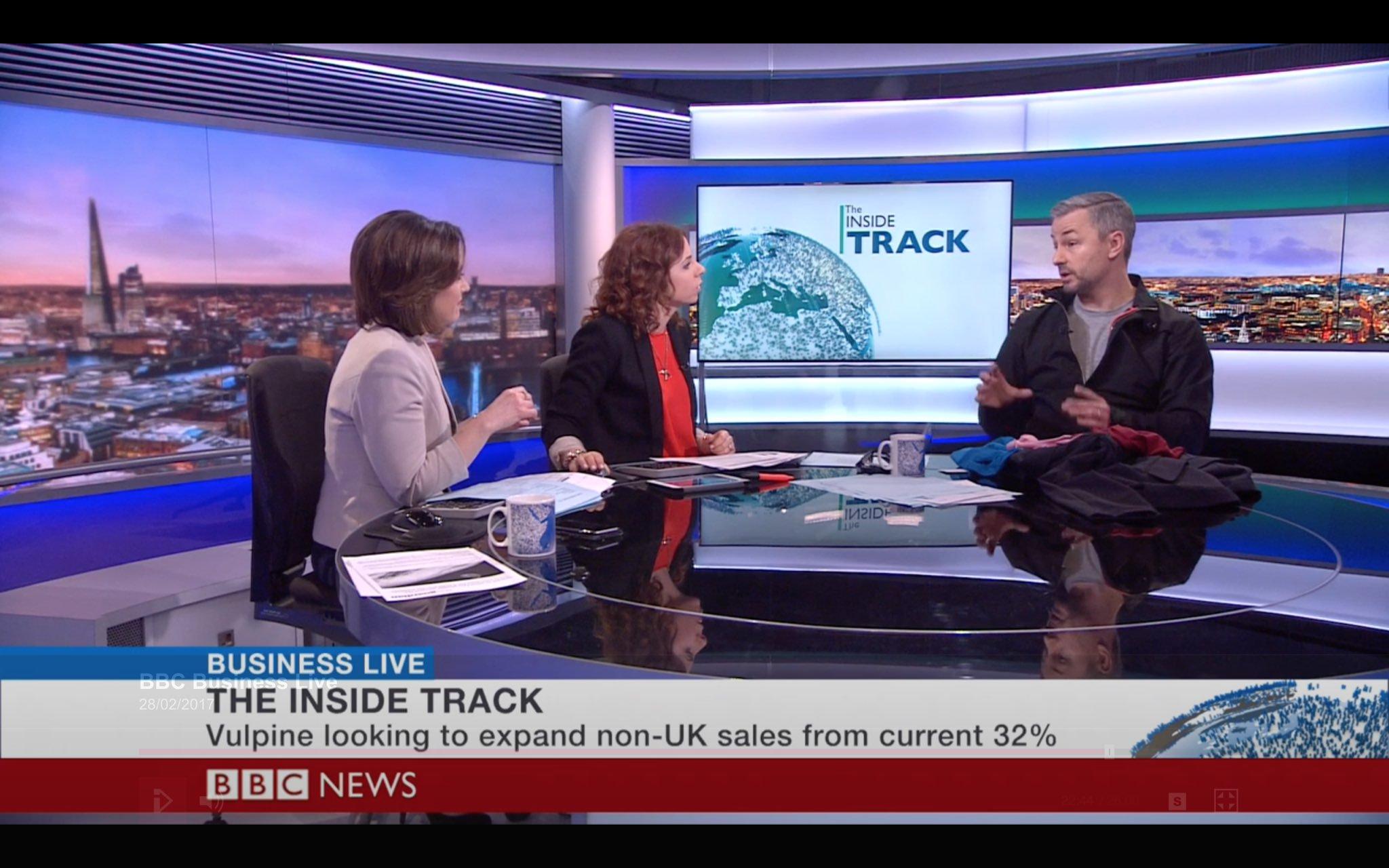 nick hussey vulpine bbc business news