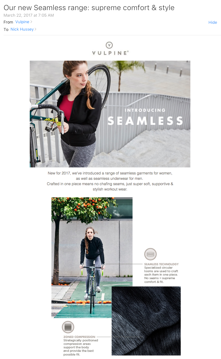 vulpine nick hussey female cyclist marketing email.png