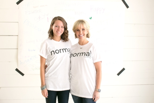 Colleen & Colleen, Owners of Mama Said Tees