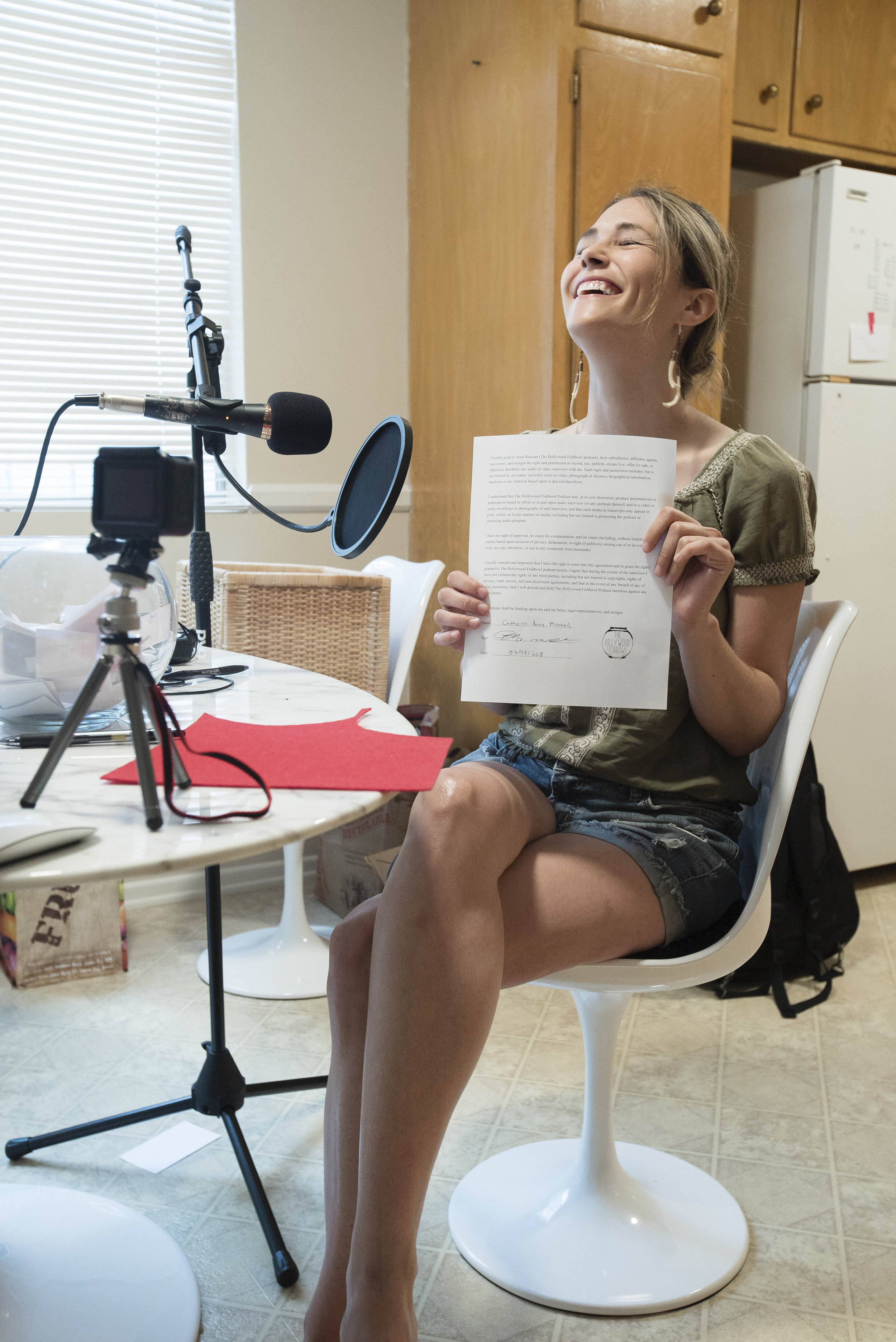 That moment of pure joy when you realize that you've signed a release to be on a podcast! There's truly nothing like it.