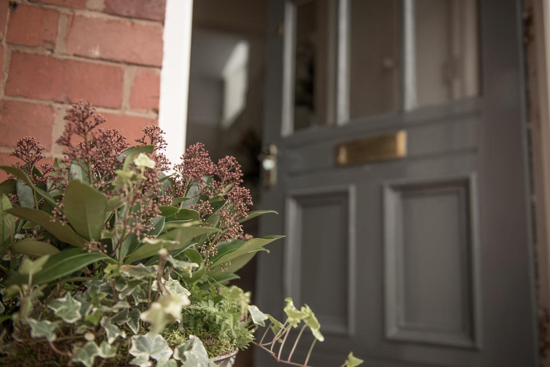 welcoming open front door at Redcliffe Dental