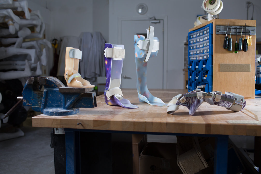 custom made orthotic devices