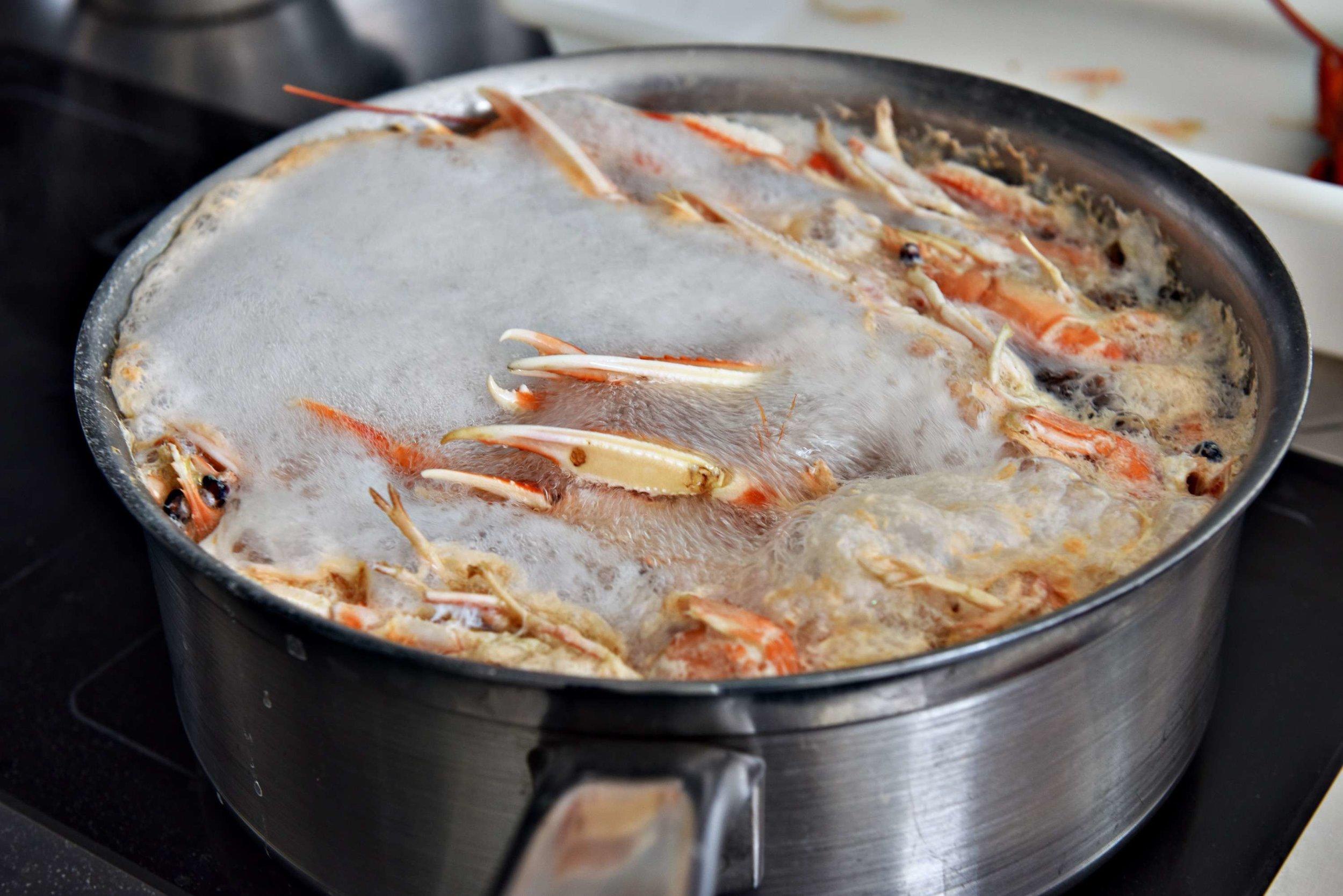 3 dome sur mer seafood schaal schelp kreeft restaurant bistro antwerpen frederic chabbert michelinstar bart albrecht tablefever.jpg