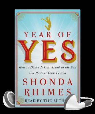 - Year of Yes: vous connaissez sûrement son auteure, Shonda Rhimes, la reine des séries américaines. Elle est la créatrice de «Grey's Anatomy », «Scandal » ou encore «How to get away with murder ». Shonda a un parcours de dingue et dans ce livre, qu'elle lit elle-même !!, elle raconte comment dire «oui » à tout ce qu'on lui proposait, a changé sa vie …