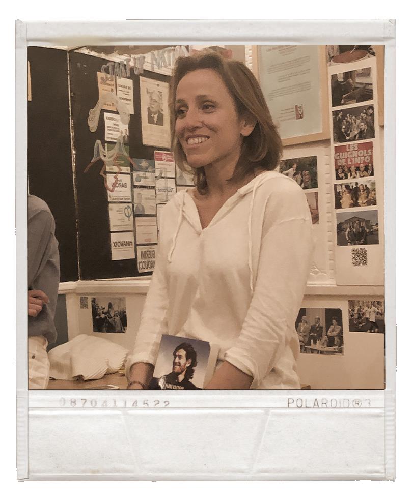 Flore Vasseur au politicafé