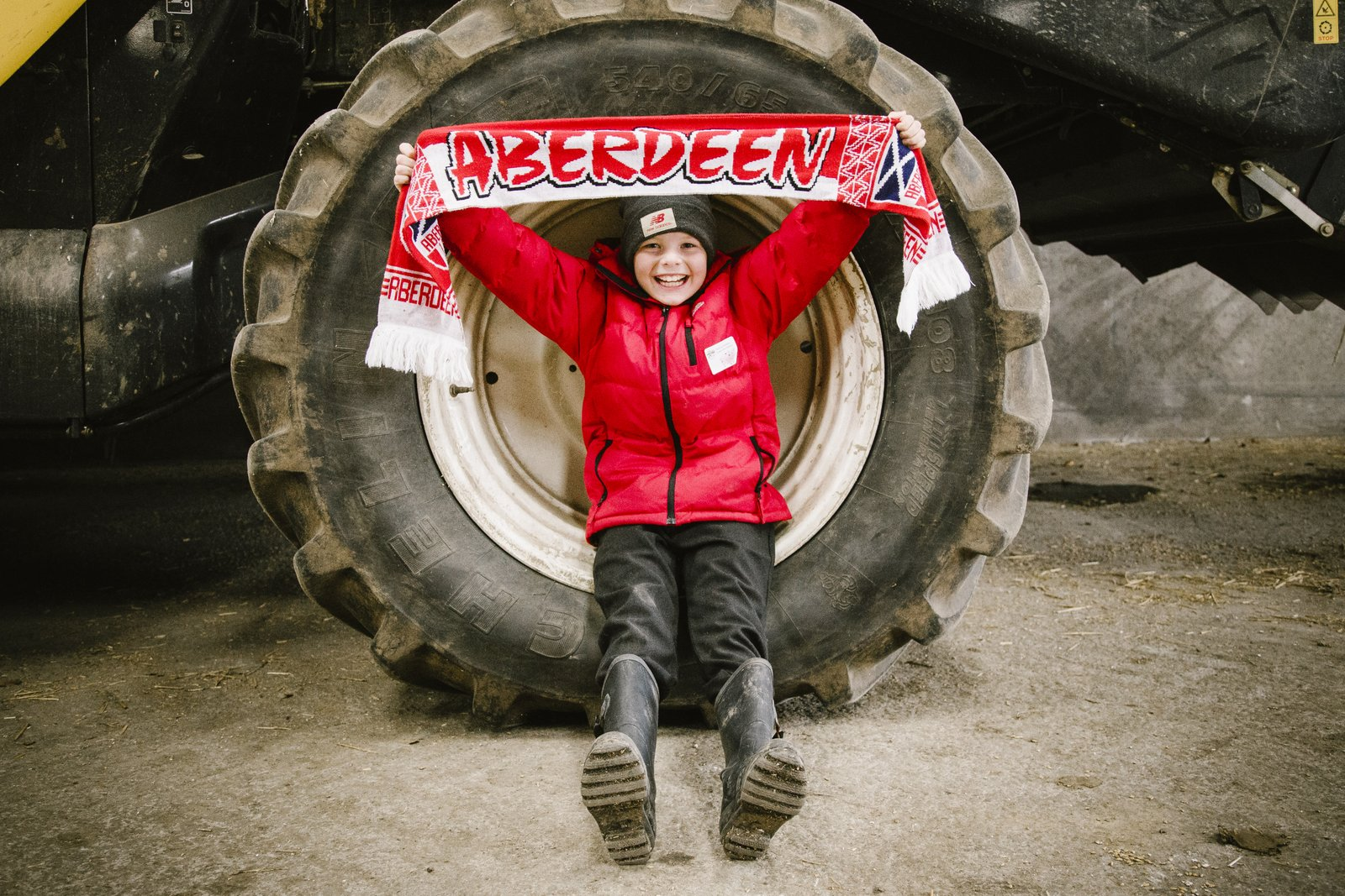 Inspiring Young People into Agriculture Scotland
