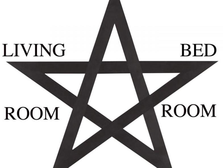 Pentagram , 2009. Courtesy of the artist.