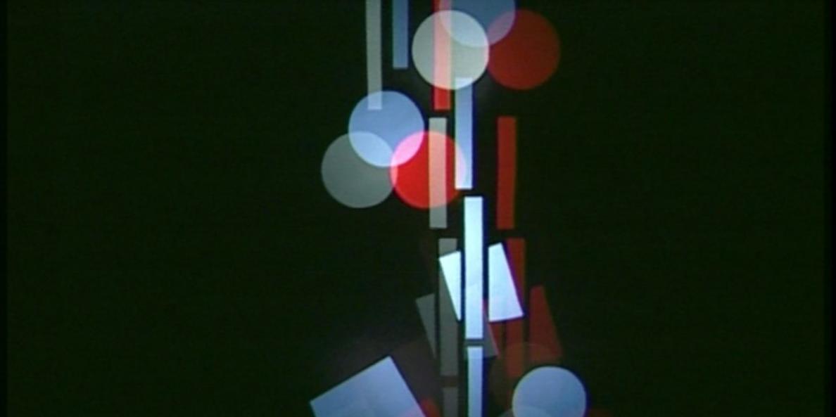 Ludwig Hirschfeld-Mack, Farbenlichtspiele, reconstruction 2000. A film by Corinne Schweizer, Peter Böhm (videostill).