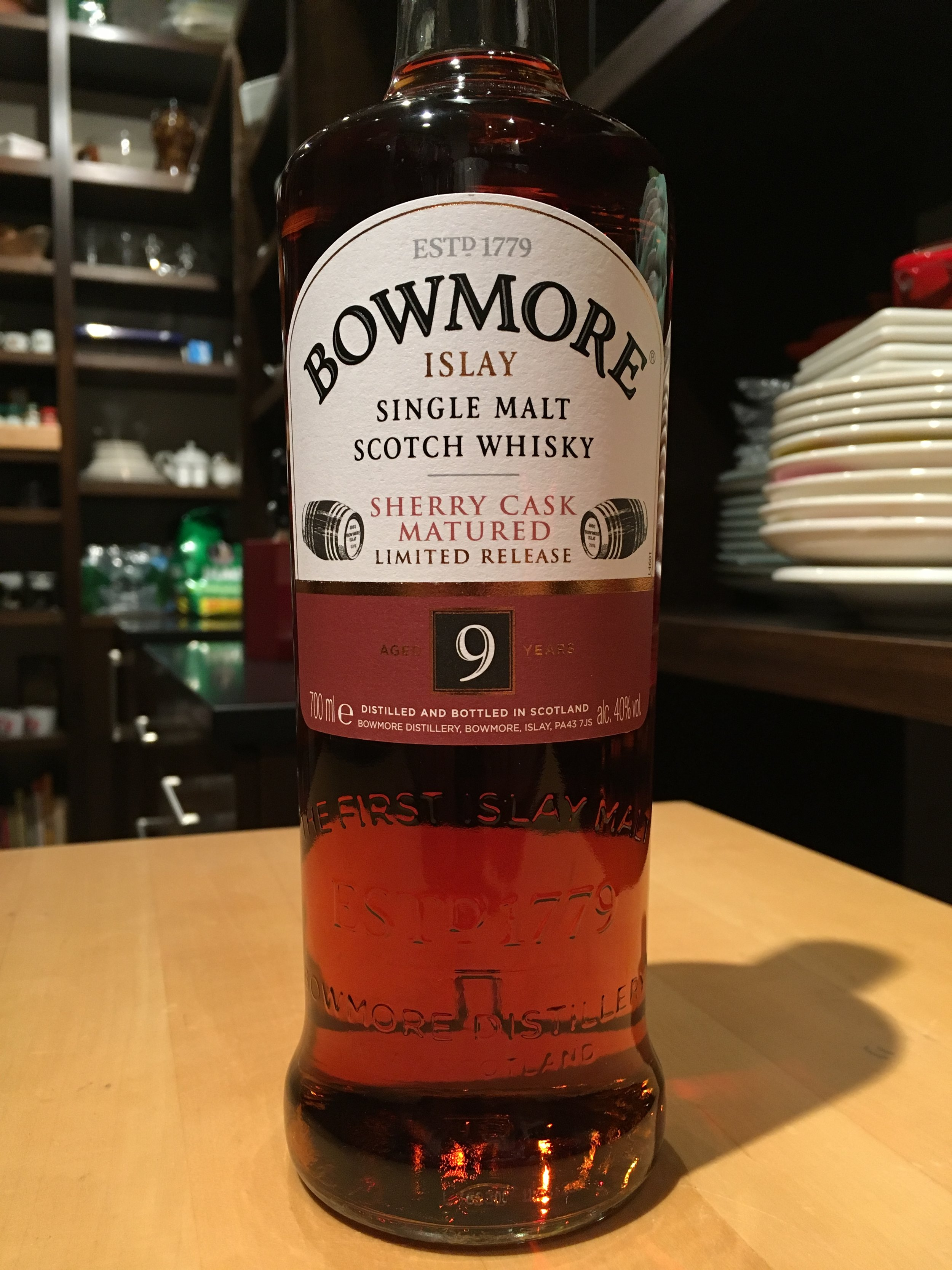 9 Year Old | 40% ABV - Distillery | Bowmore