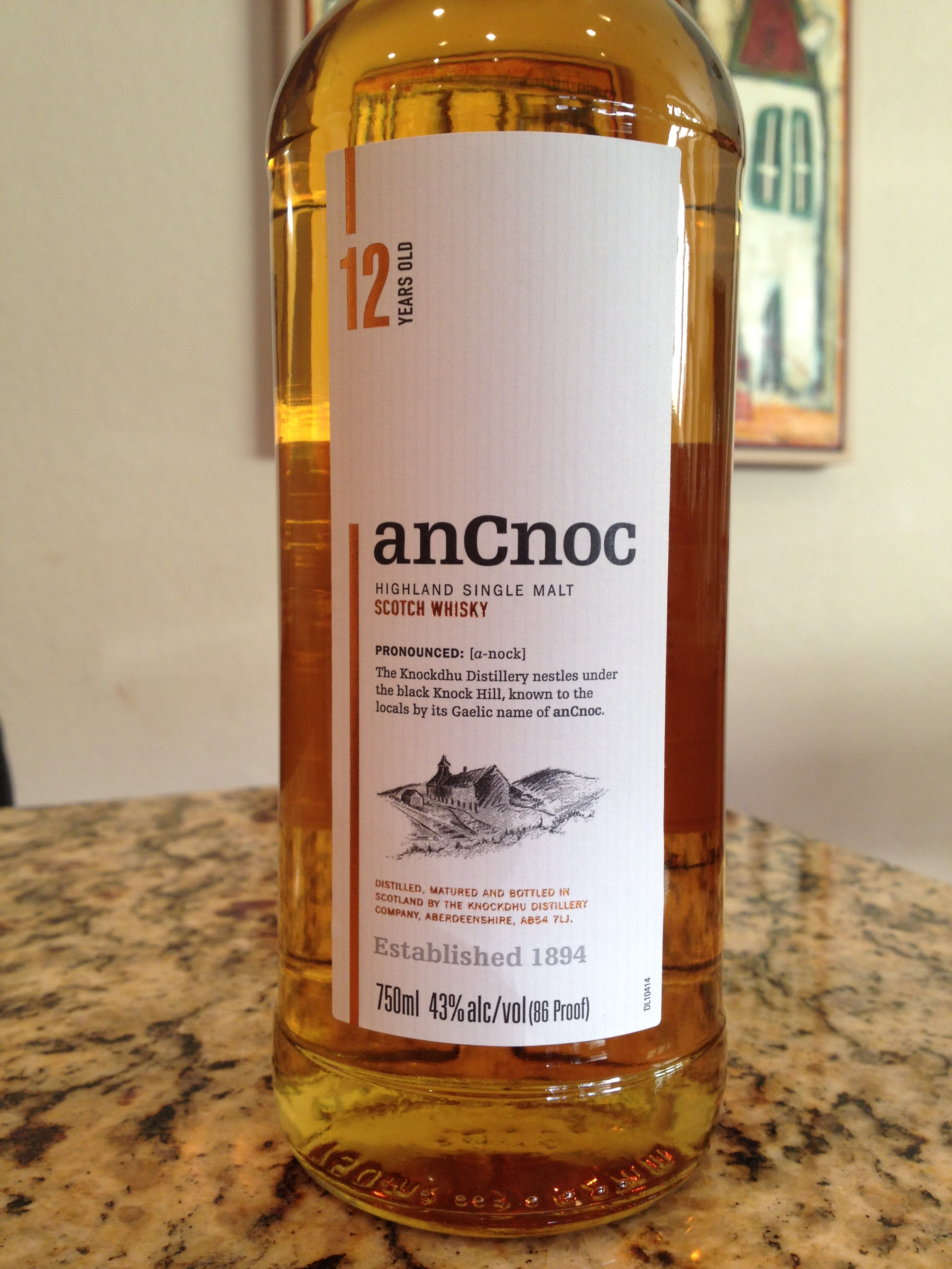 12 Year Old | 43% ABV - Distillery | Knockdhu