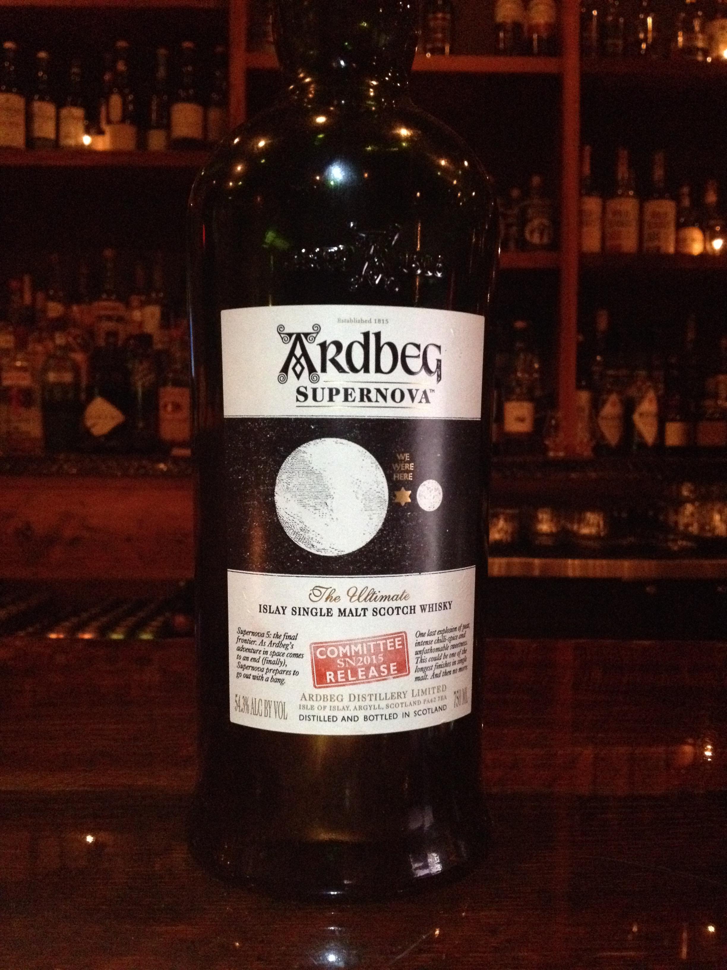 NAS   54.3% ABV - Distillery   Ardbeg