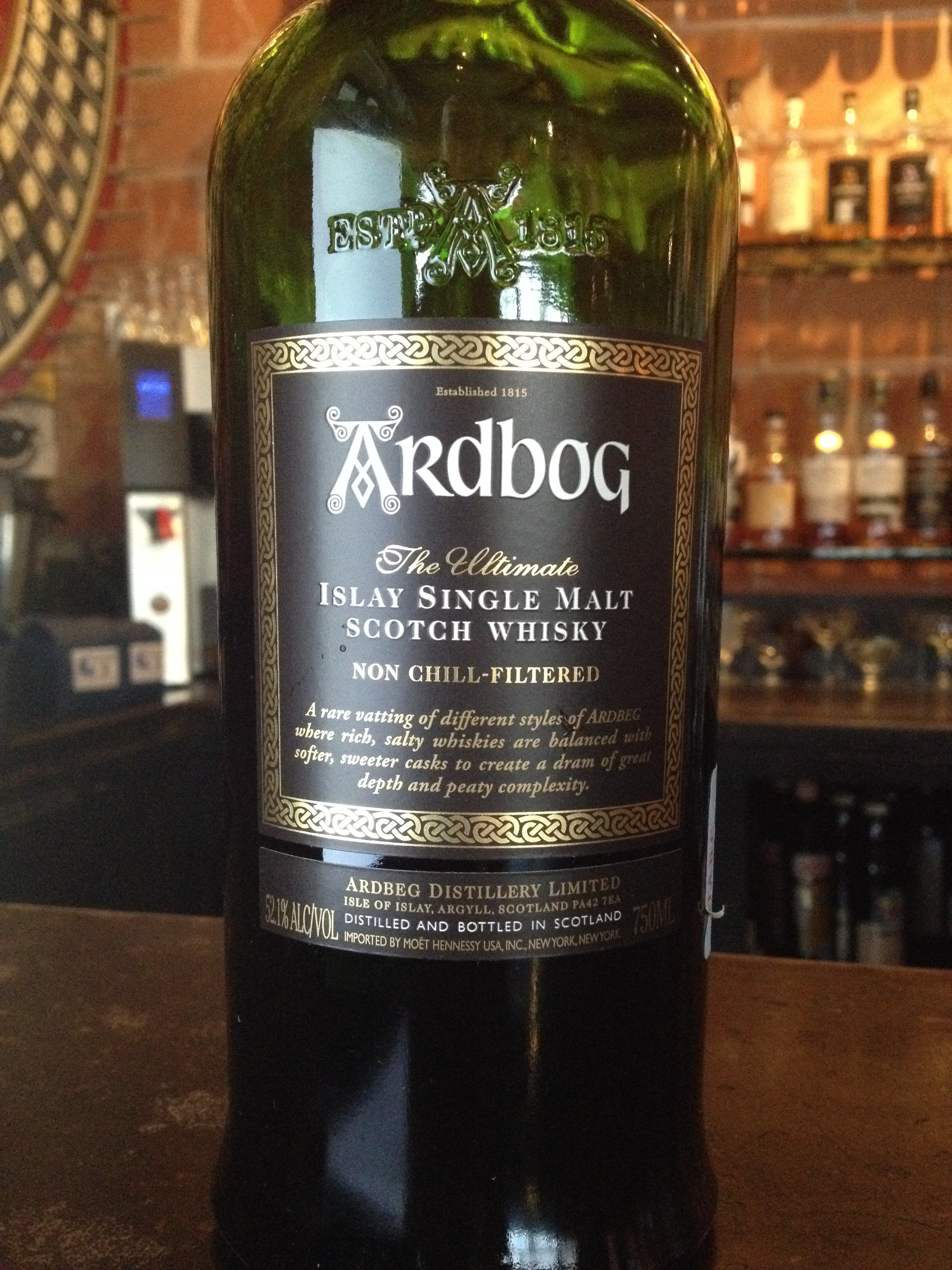 10 Year Old | 52.1% ABV - Distillery | Ardbeg