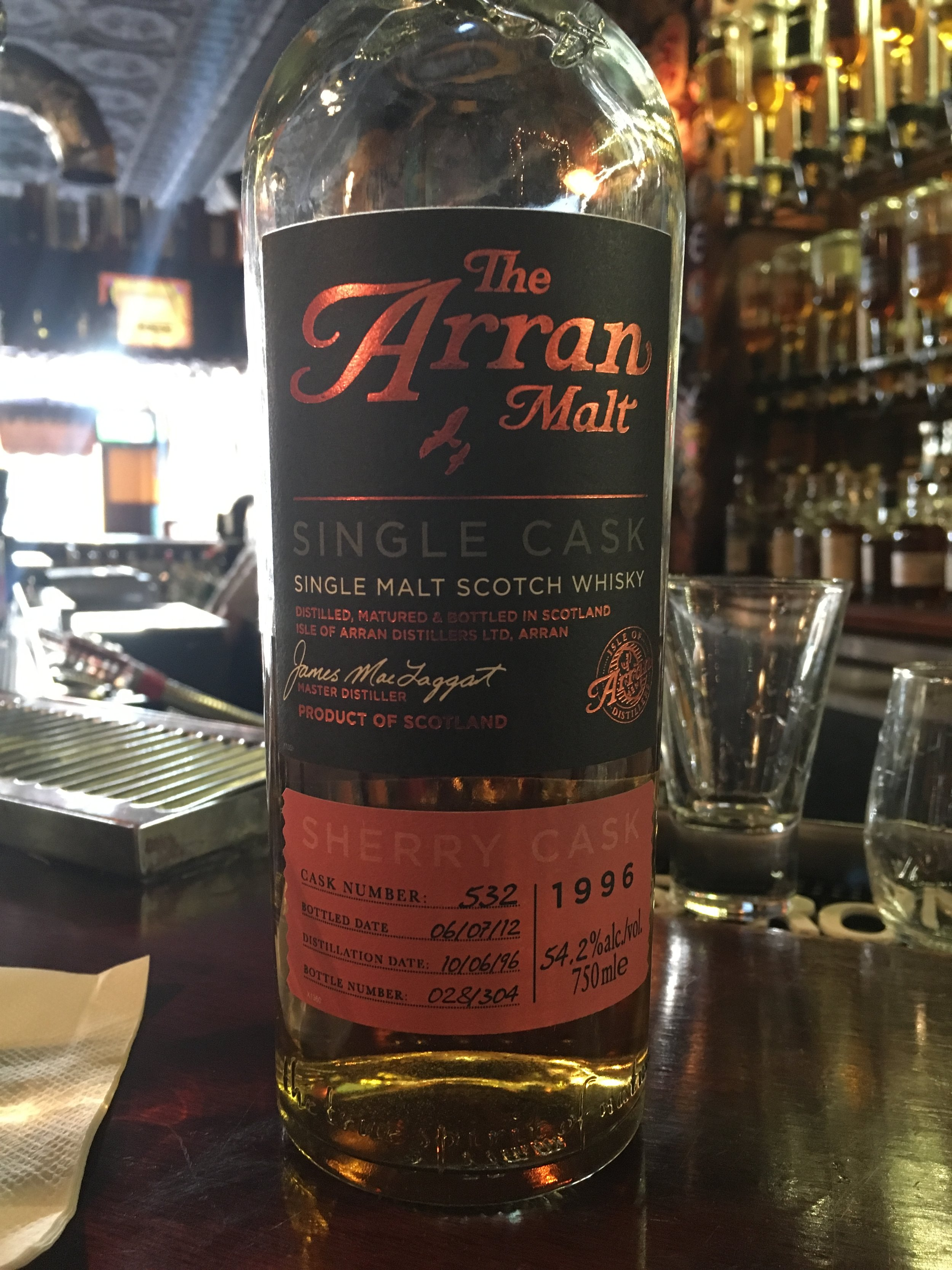 16 Year Old | 54.2% ABV - Distillery | Isle of Arran Distillers