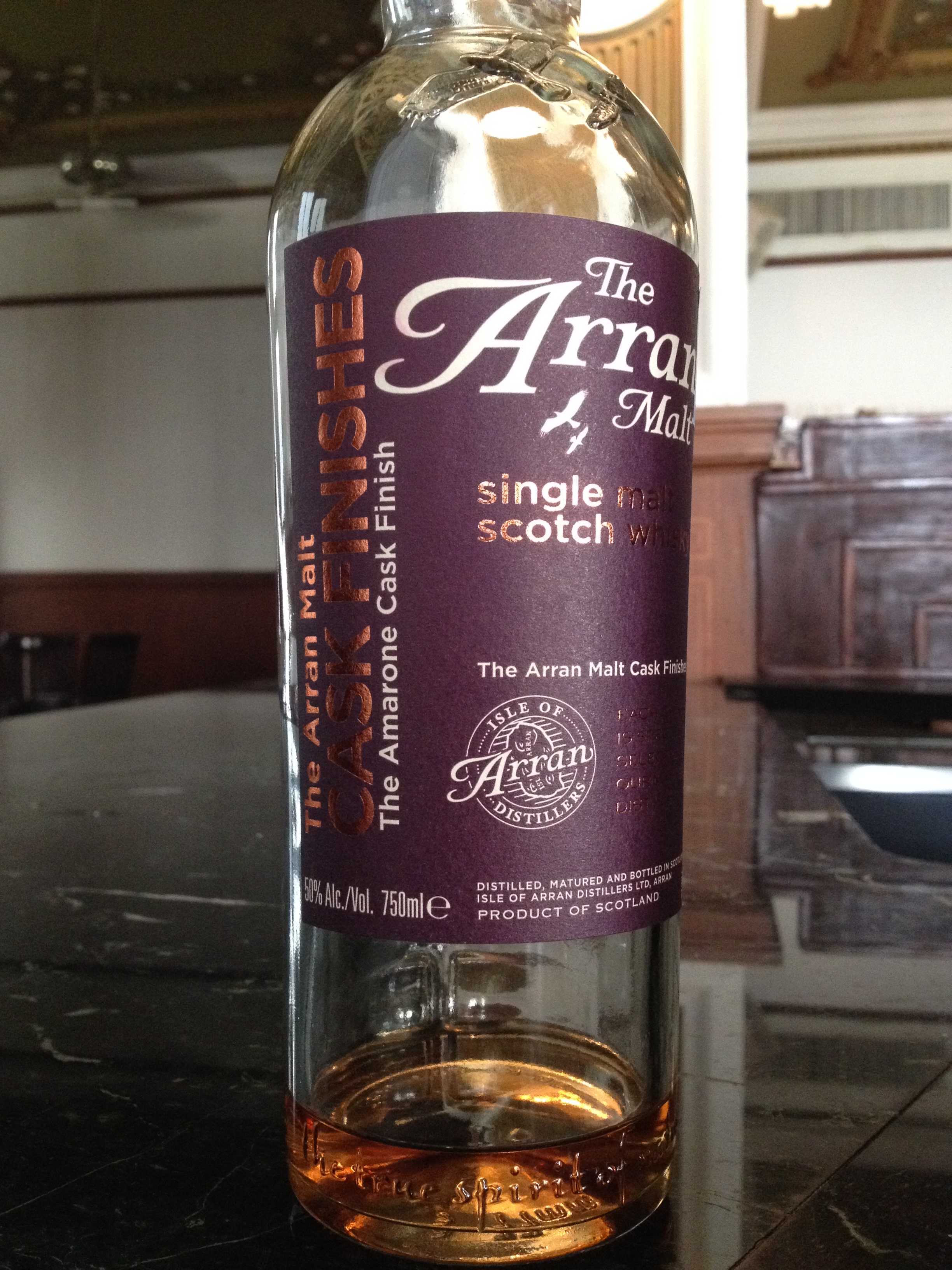 NAS   50% ABV - Distillery   Isle of Arran Distillers