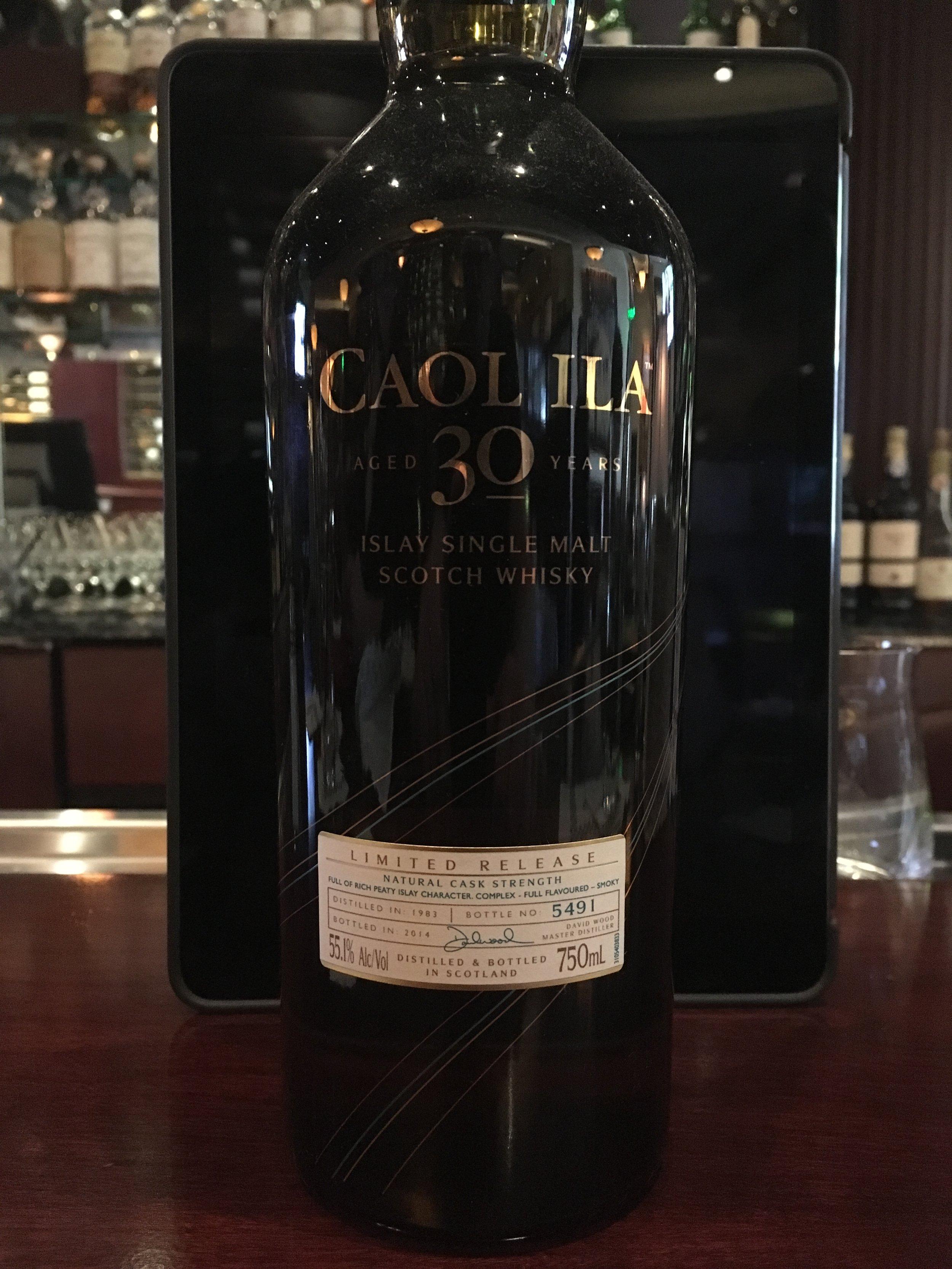 30 Year Old   55.1% ABV - Distillery   Caol Ila