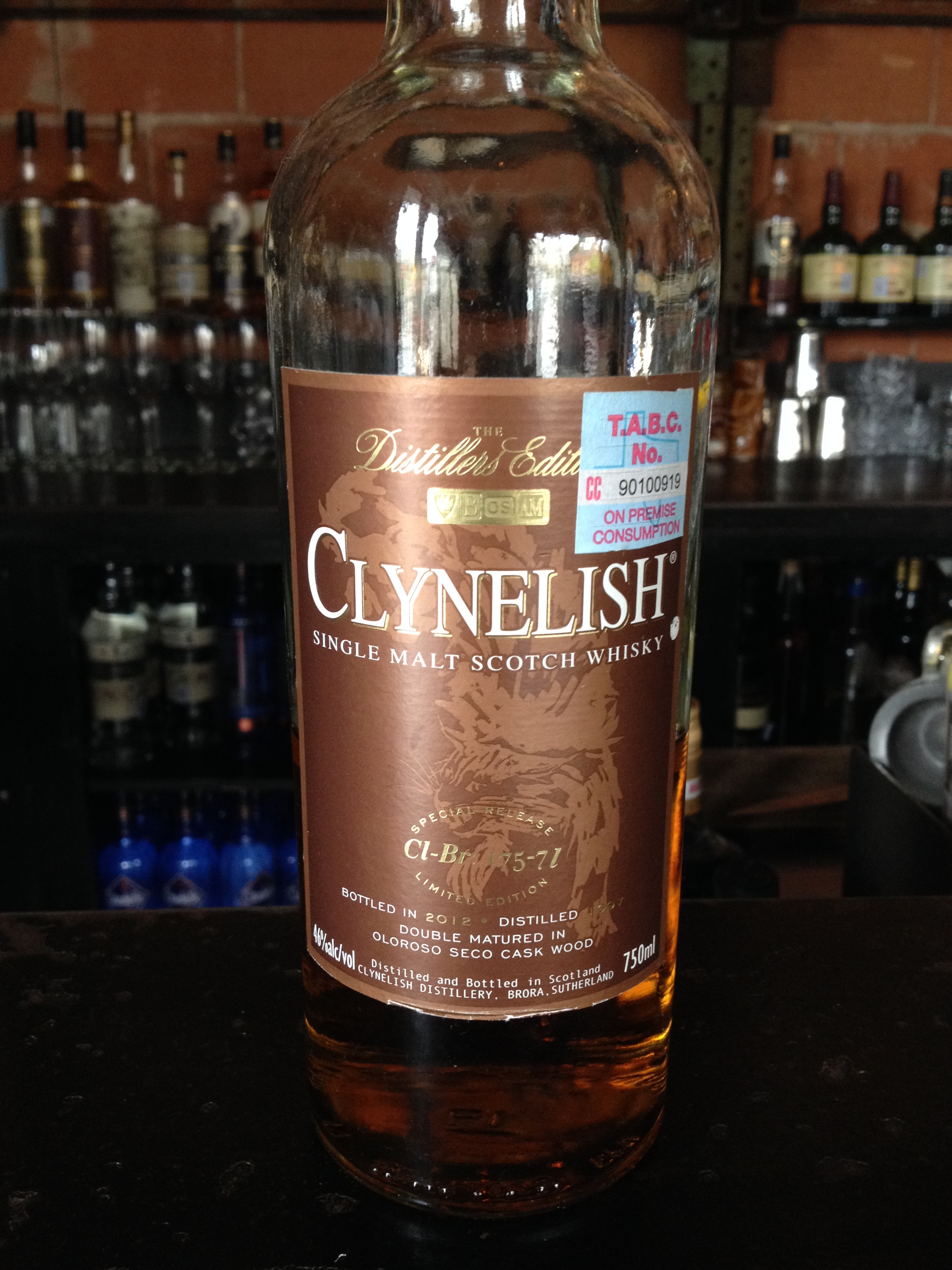 14 Year Old | 46% ABV - Distillery | Clynelish