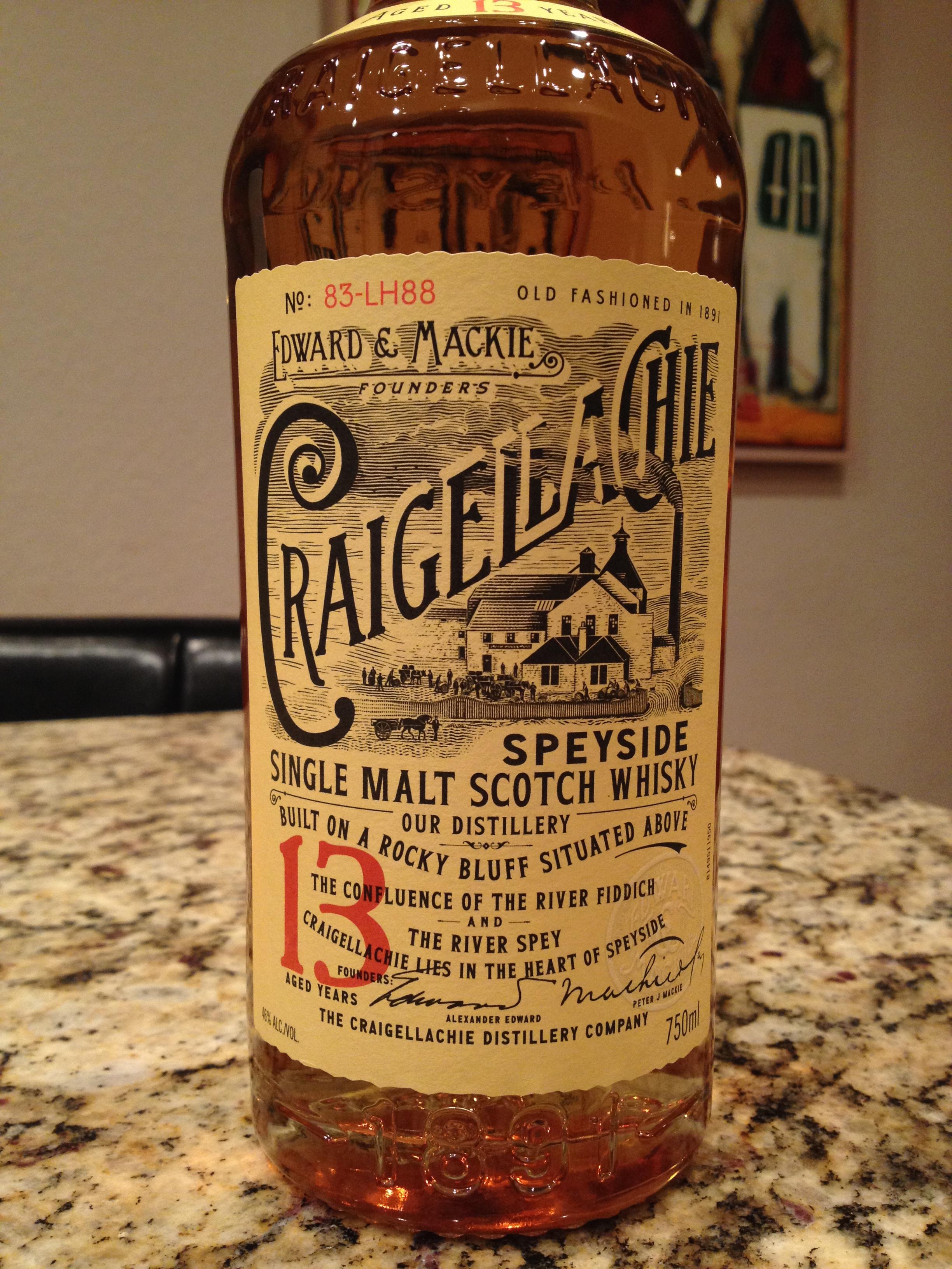 13 Year Old | 46% ABV - Distillery | Craigellachie