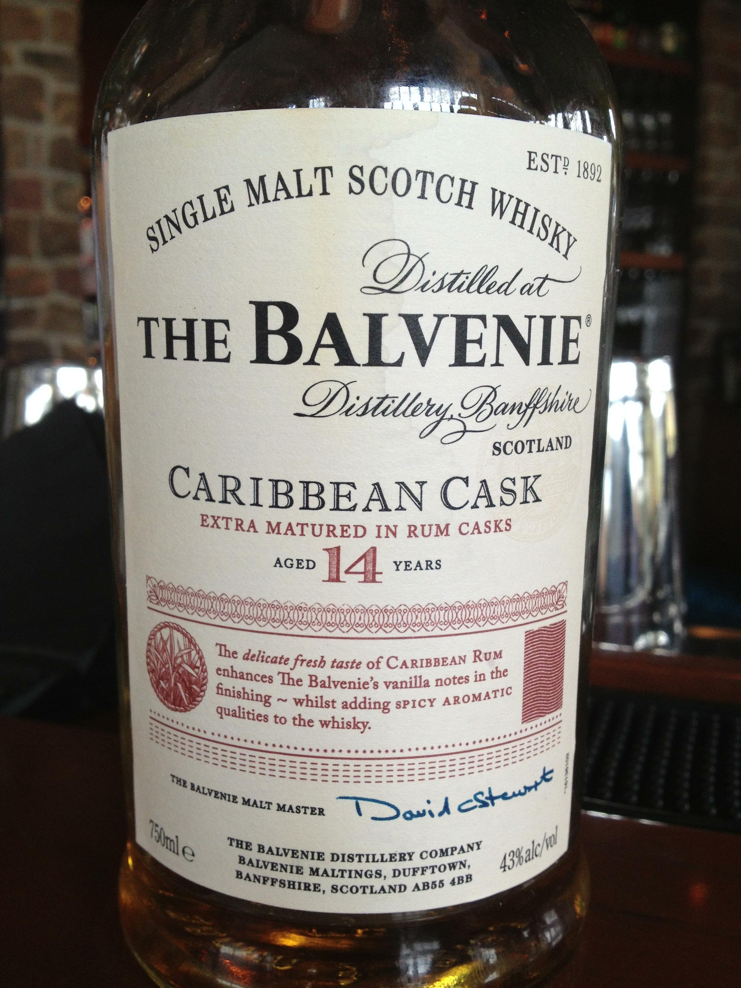 14 Year Old | 43% ABV - Distillery | Balvenie