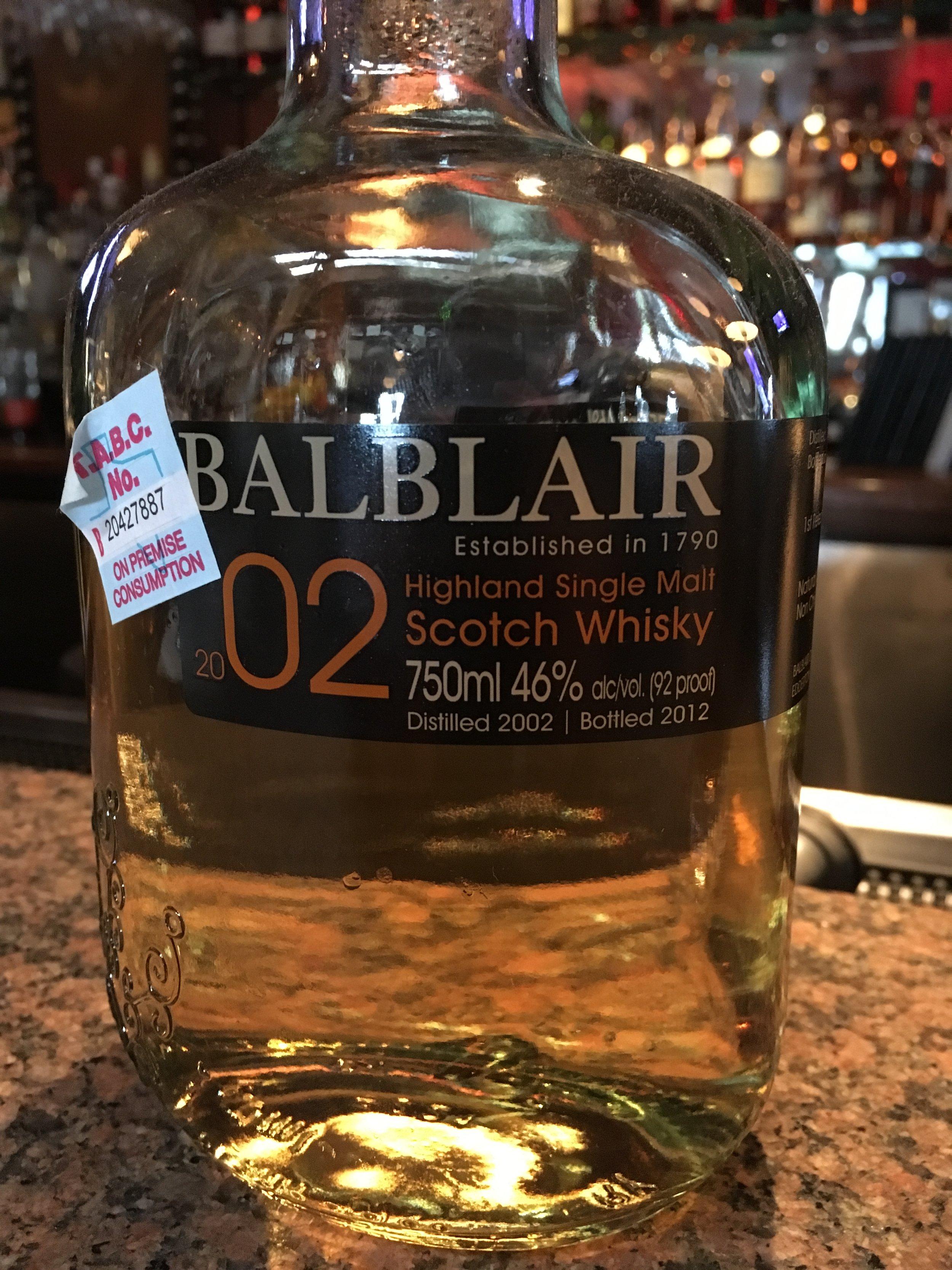 10 Year Old   46% ABV - Distillery   Balblair