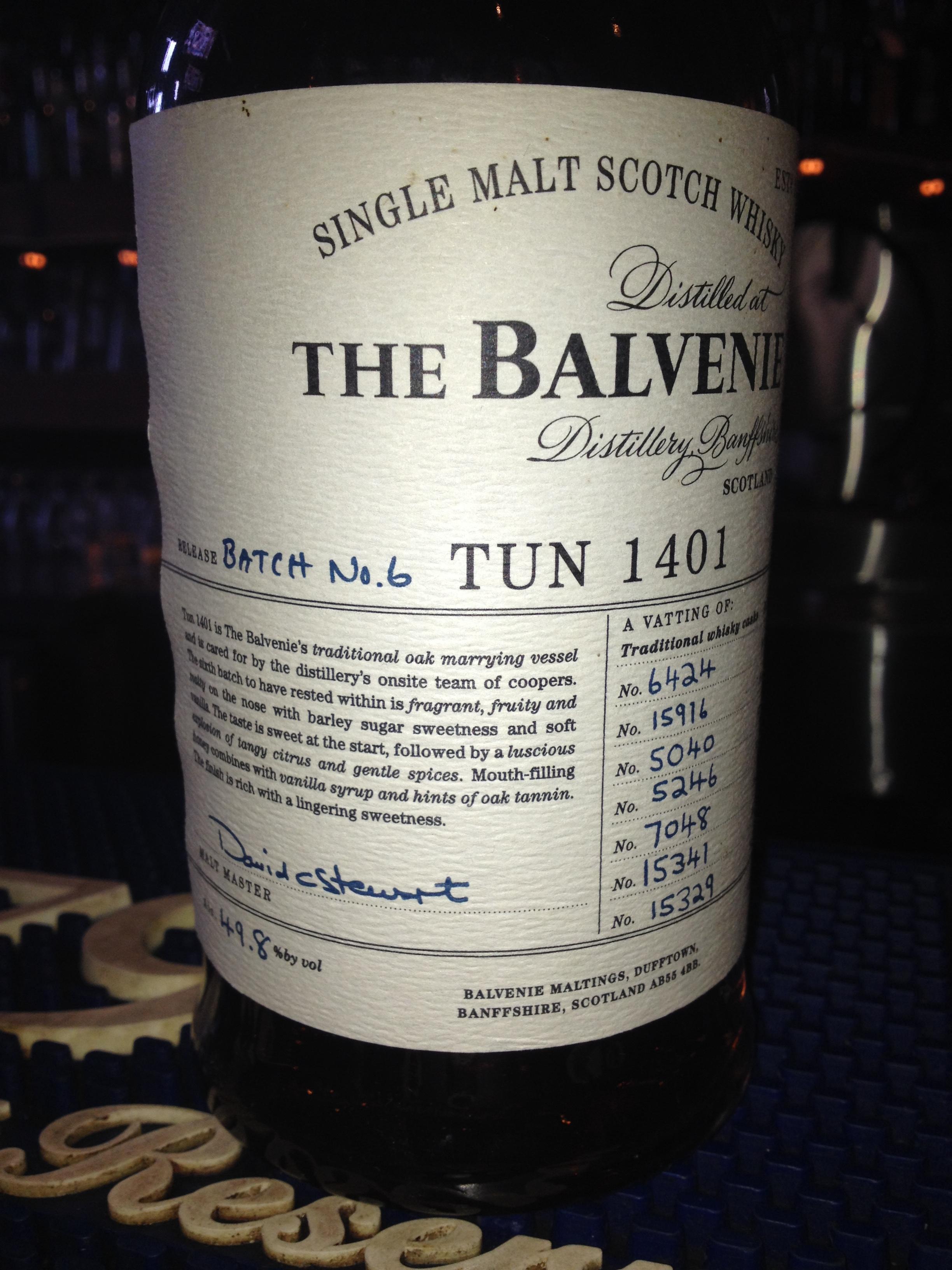 NAS   49.8% ABV - Distillery   Balvenie