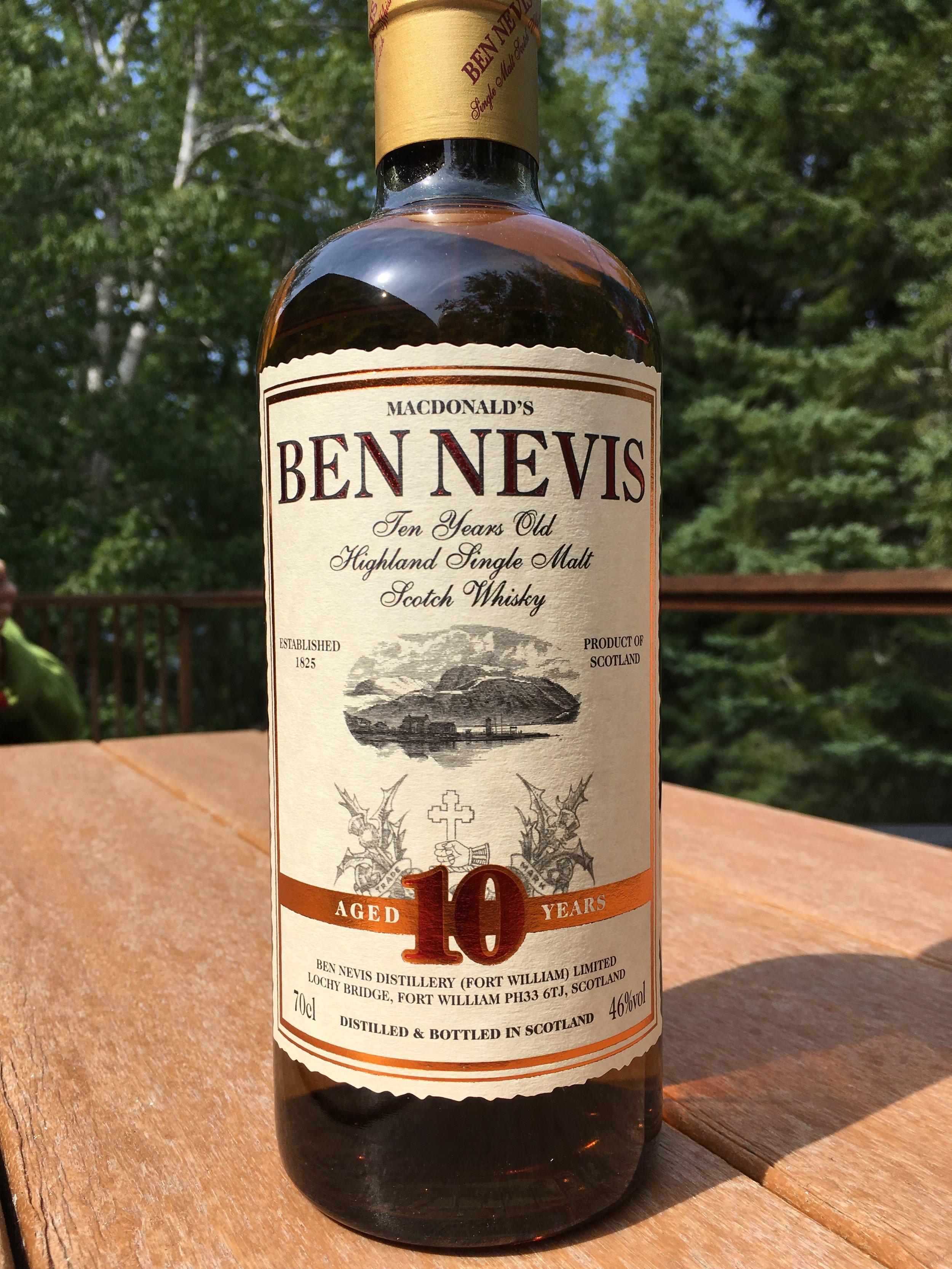 10 Year Old | 46% ABV - Distillery | Ben Nevis