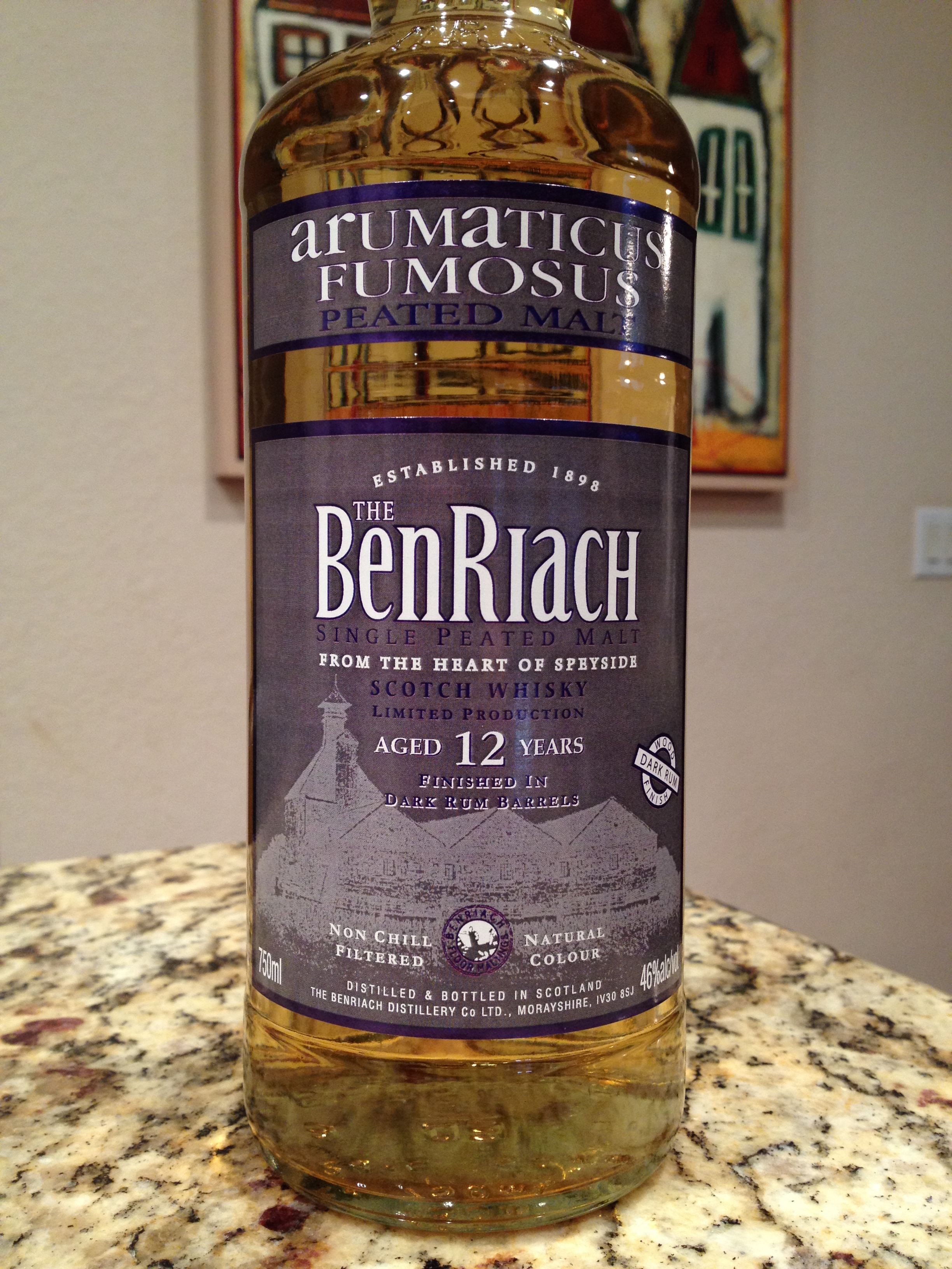 12 Year Old | 46% ABV - Distillery | BenRiach