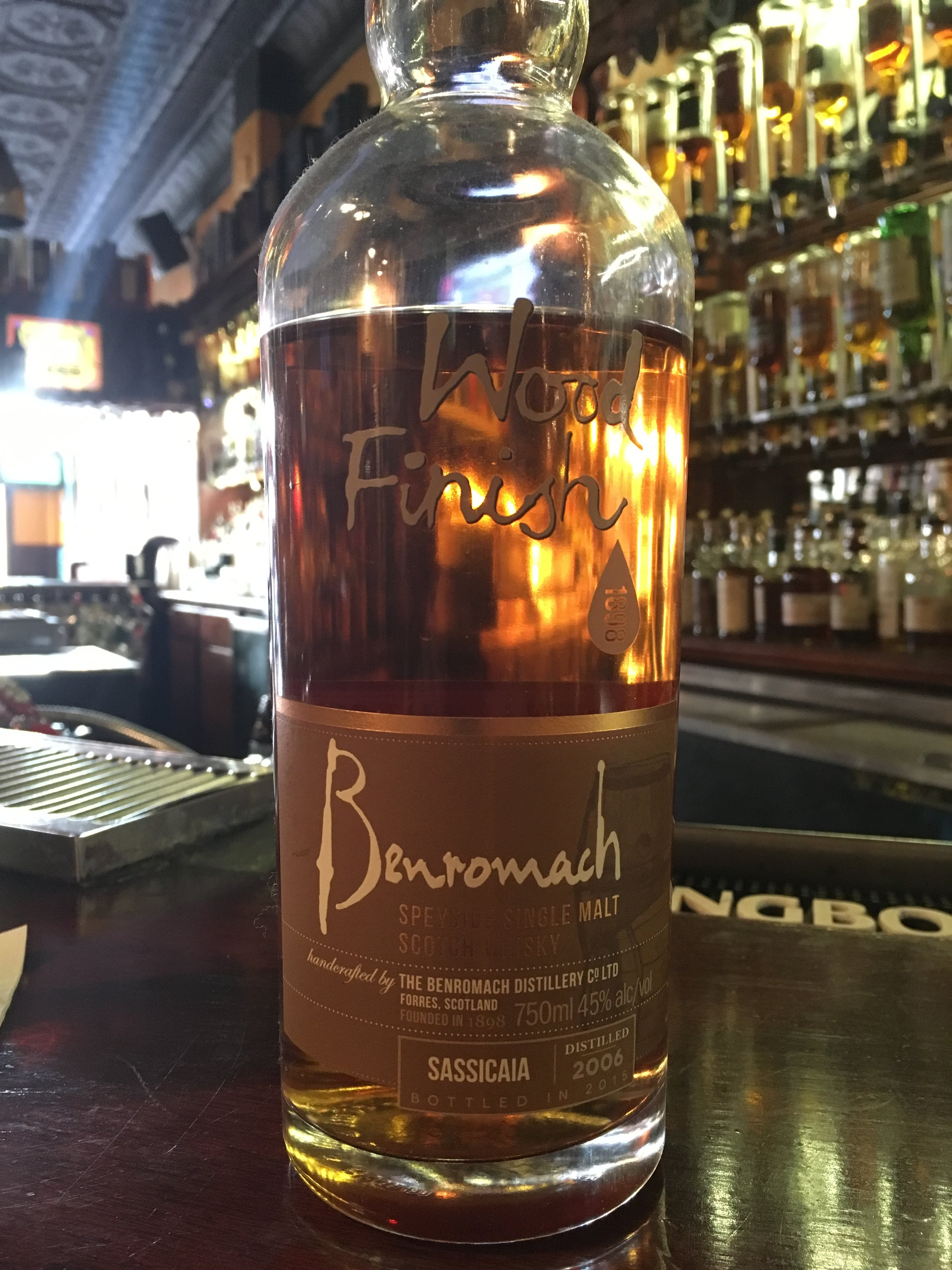 9 Year Old | 45% ABV - Distillery | Benromach