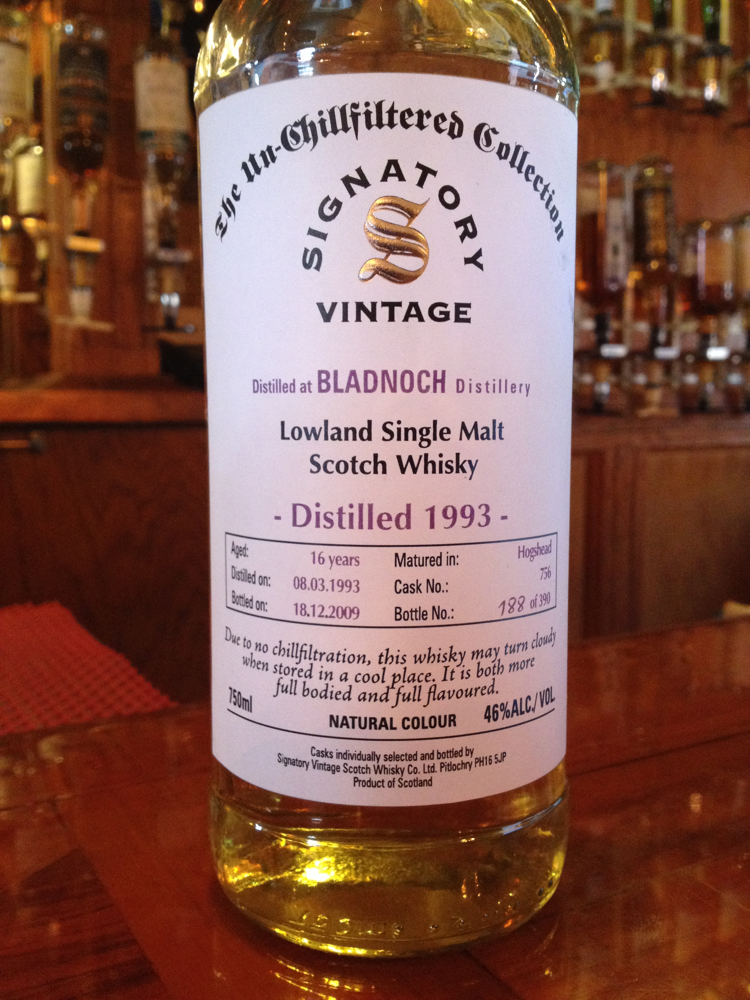 16 Year Old | 46% ABV - Distillery | Bladnoch