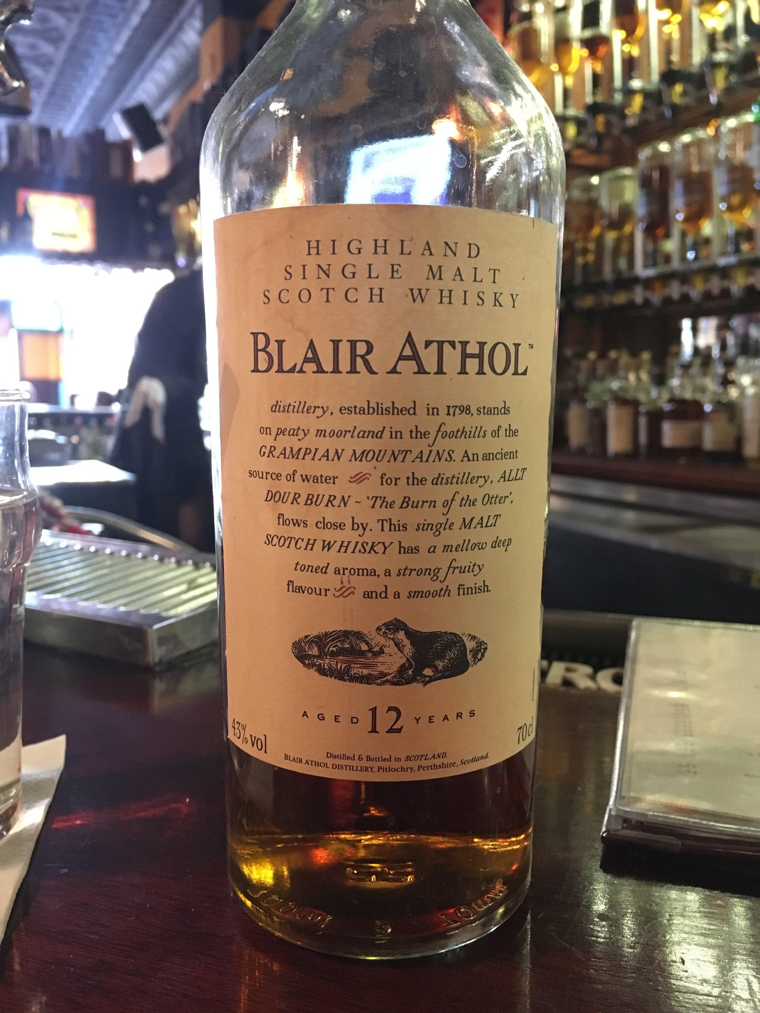 12 Year Old | 43% ABV - Distillery | Blair Athol
