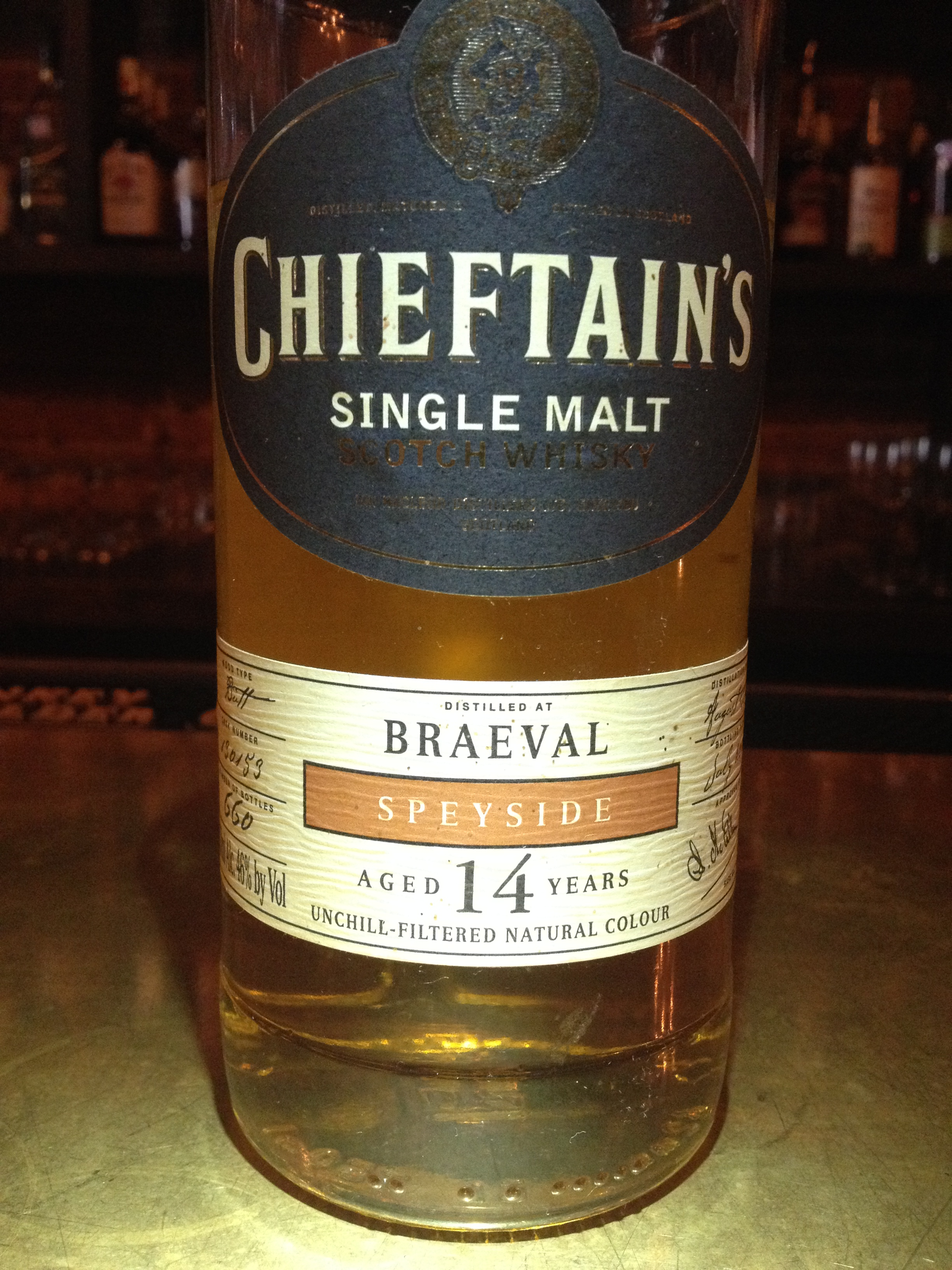 14 Year Old | 46% ABV - Distillery | Braeval