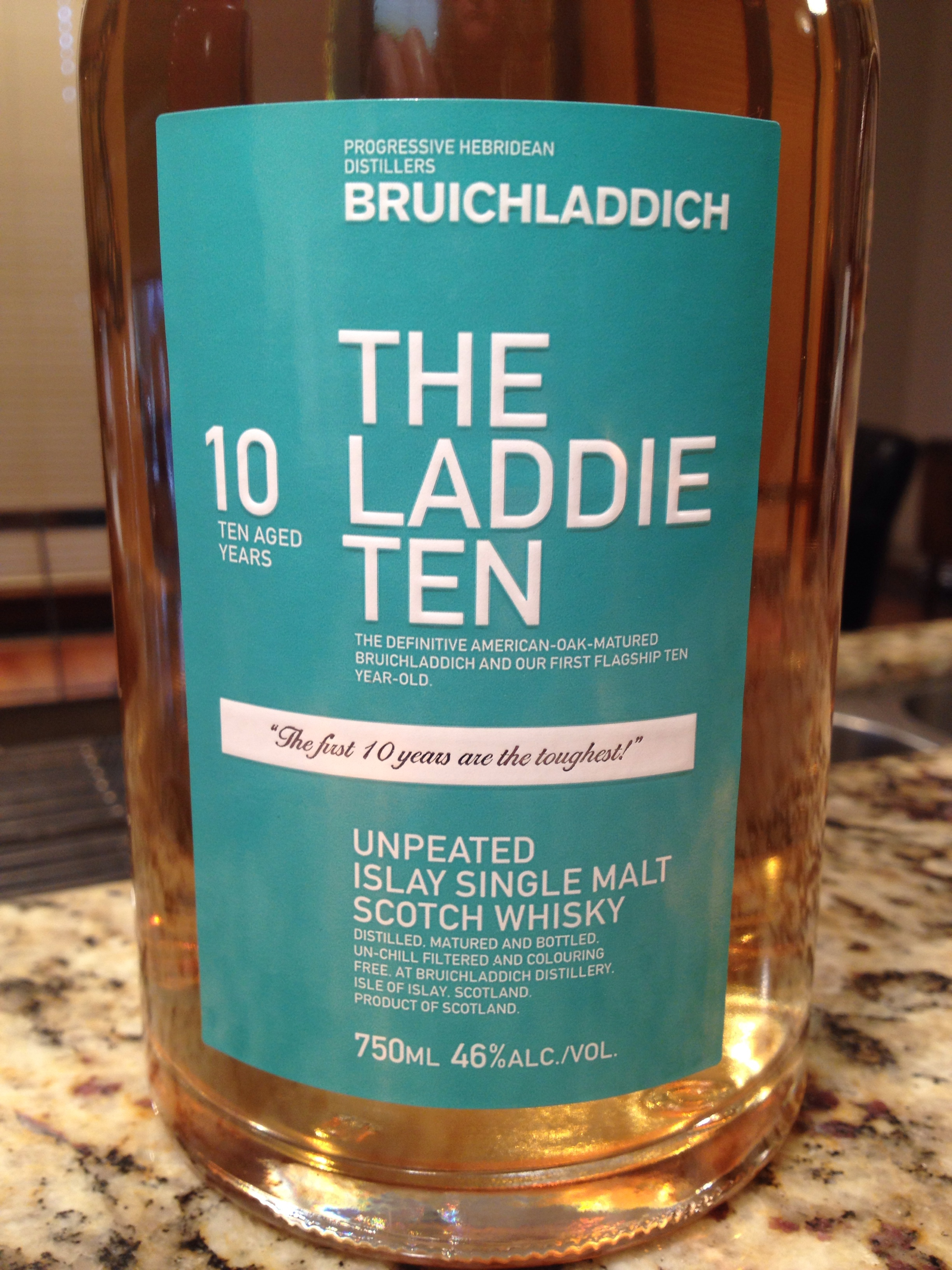 10 Year Old | 46% ABV - Distillery | Bruichladdich