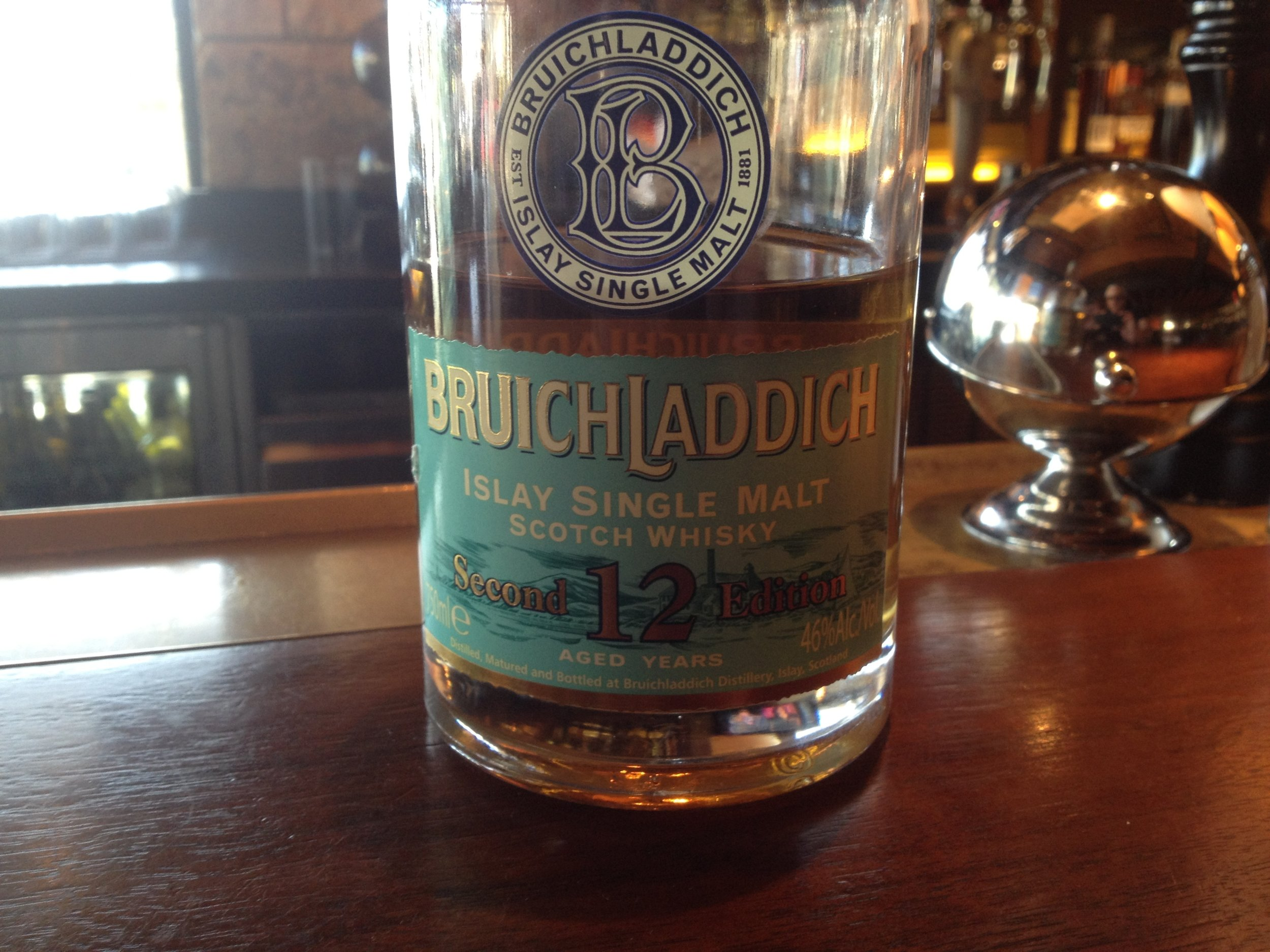 12 Year Old | 46% ABV - Distillery | Bruichladdich