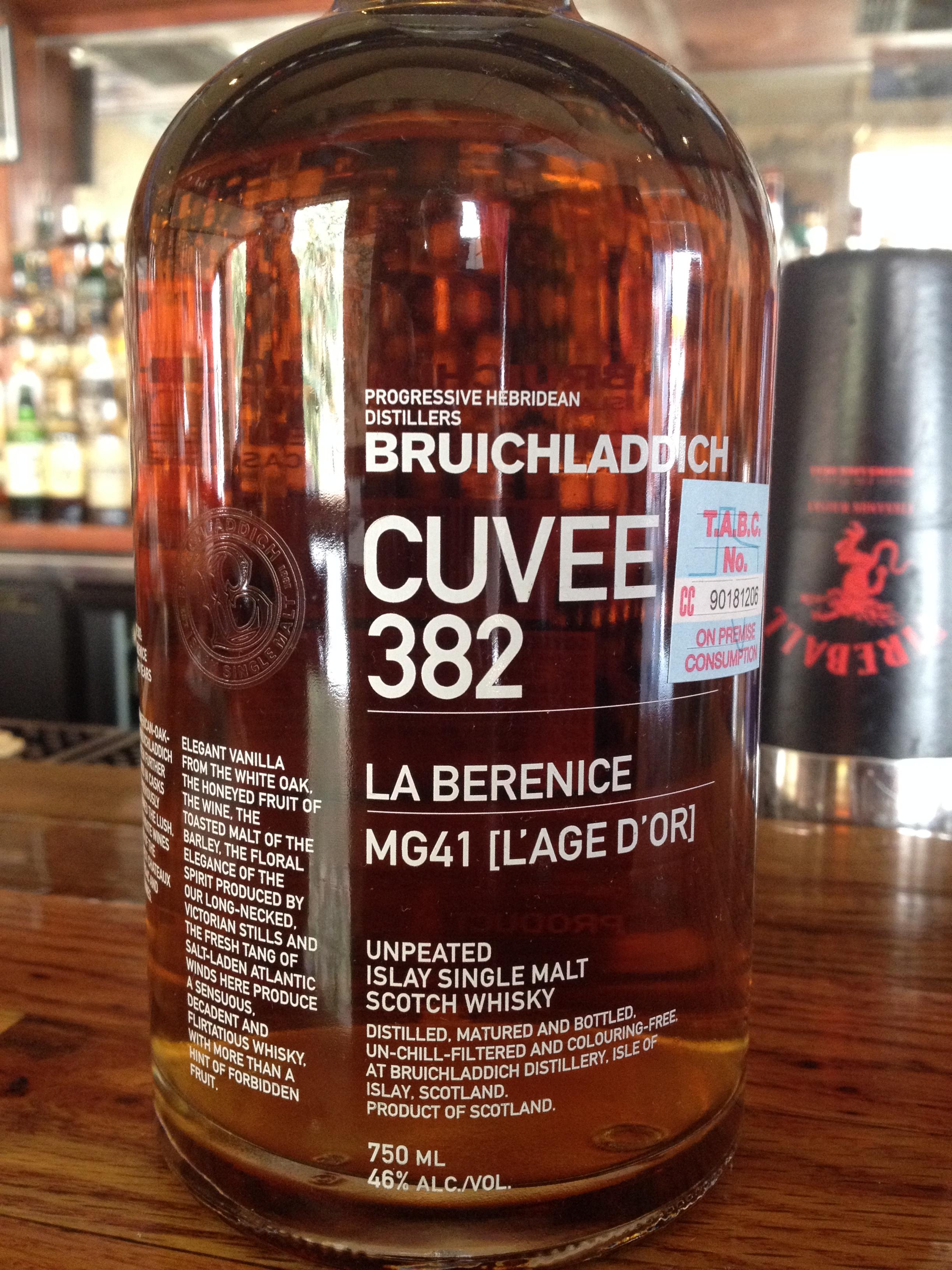 21 Year Old | 46% ABV - Distillery | Bruichladdich
