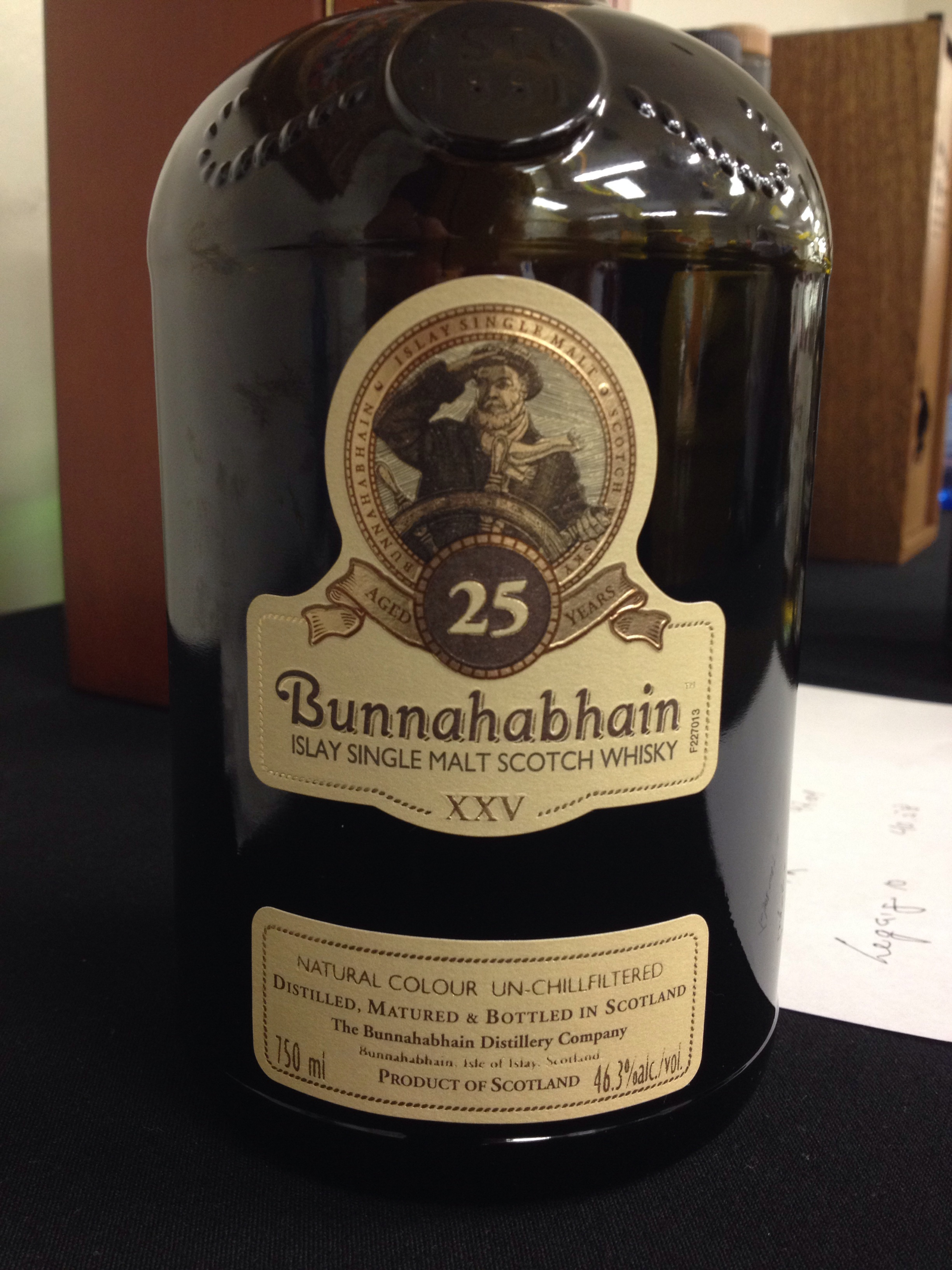 25 Year Old | 46.3% ABV - Distillery | Bunnahabhain
