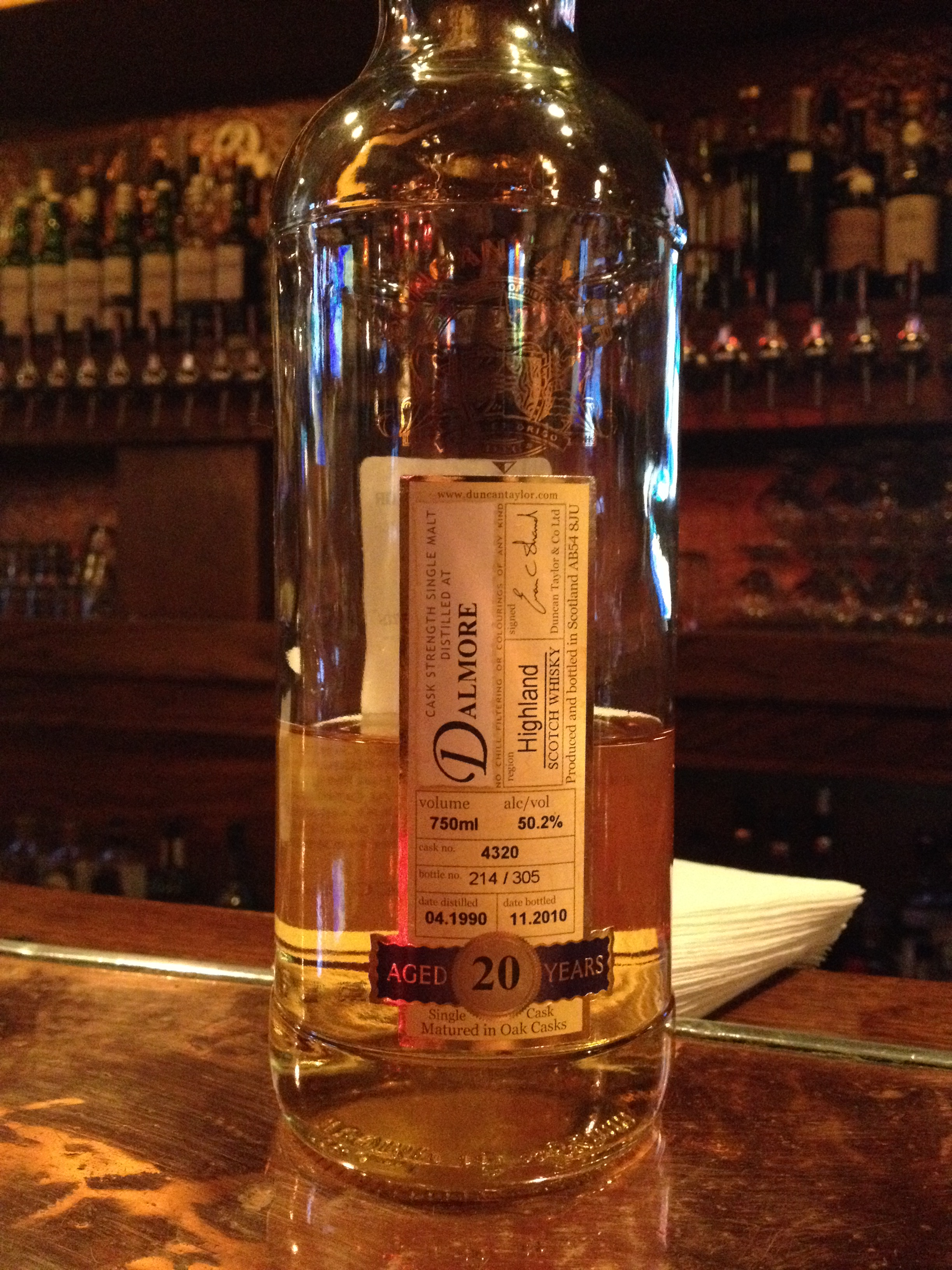 20 Year Old | 50.2% ABV - Distillery | Dalmore