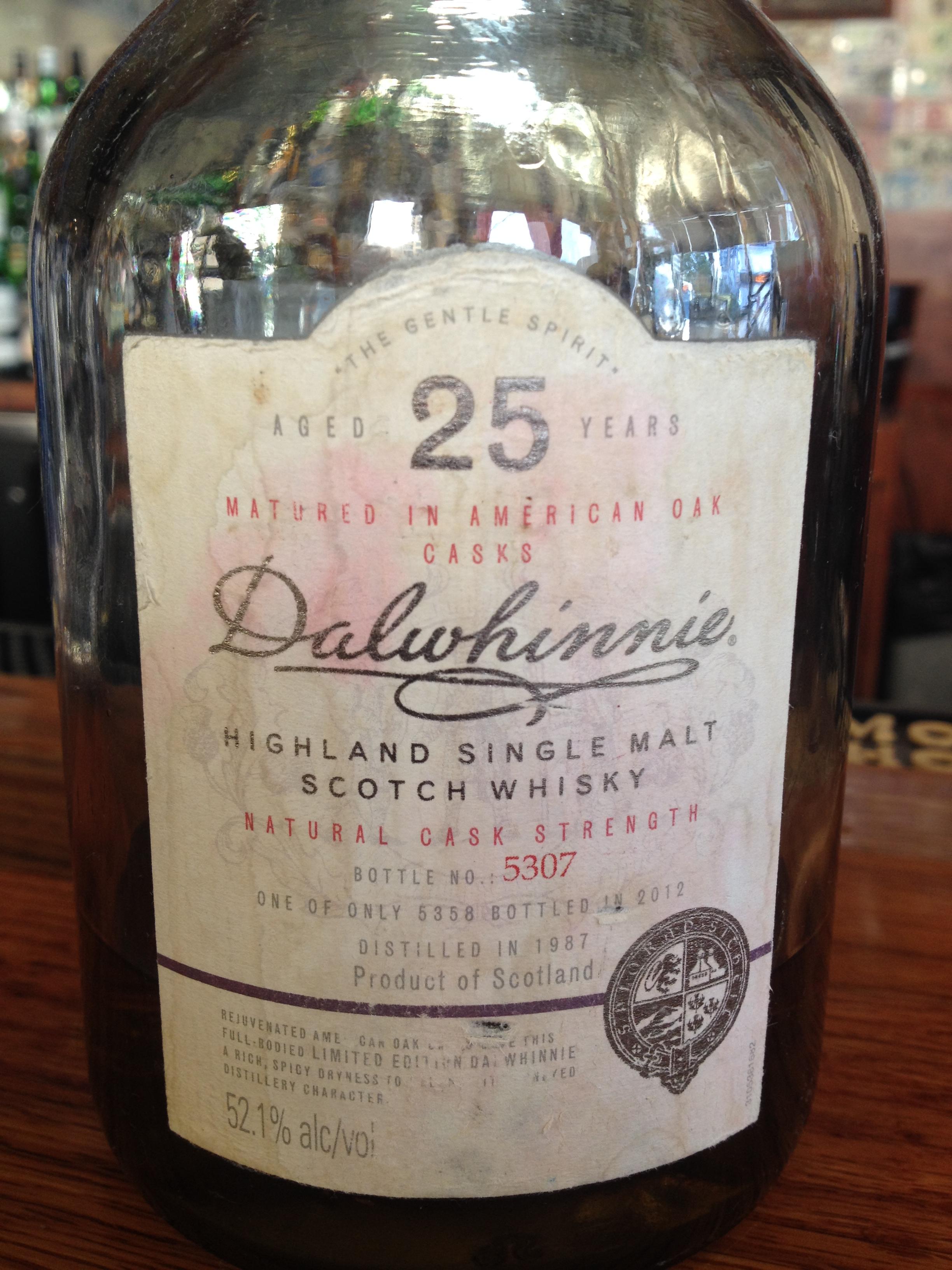 25 Year Old | 52.1% ABV - Distillery | Dalwhinnie