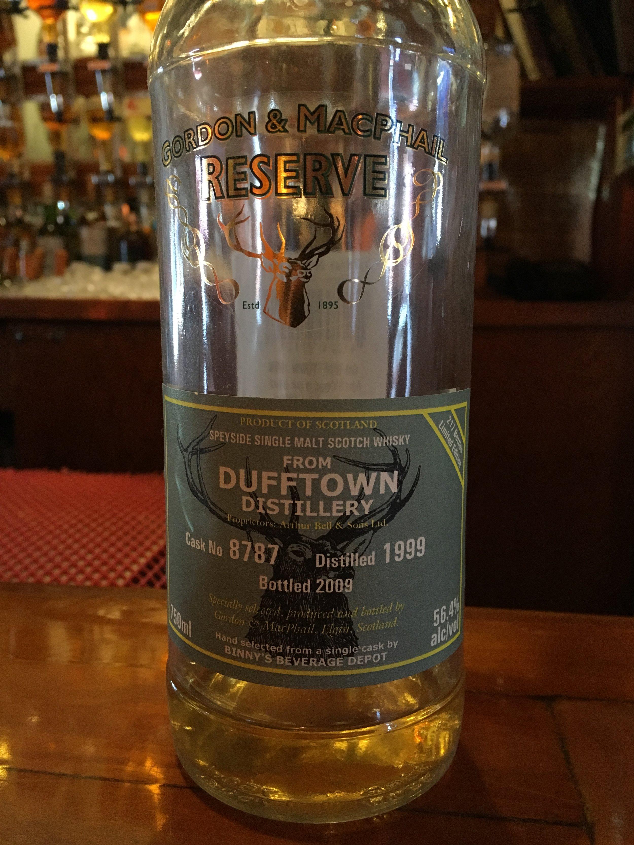 9 Year Old   56.4% ABV - Distillery   Dufftown