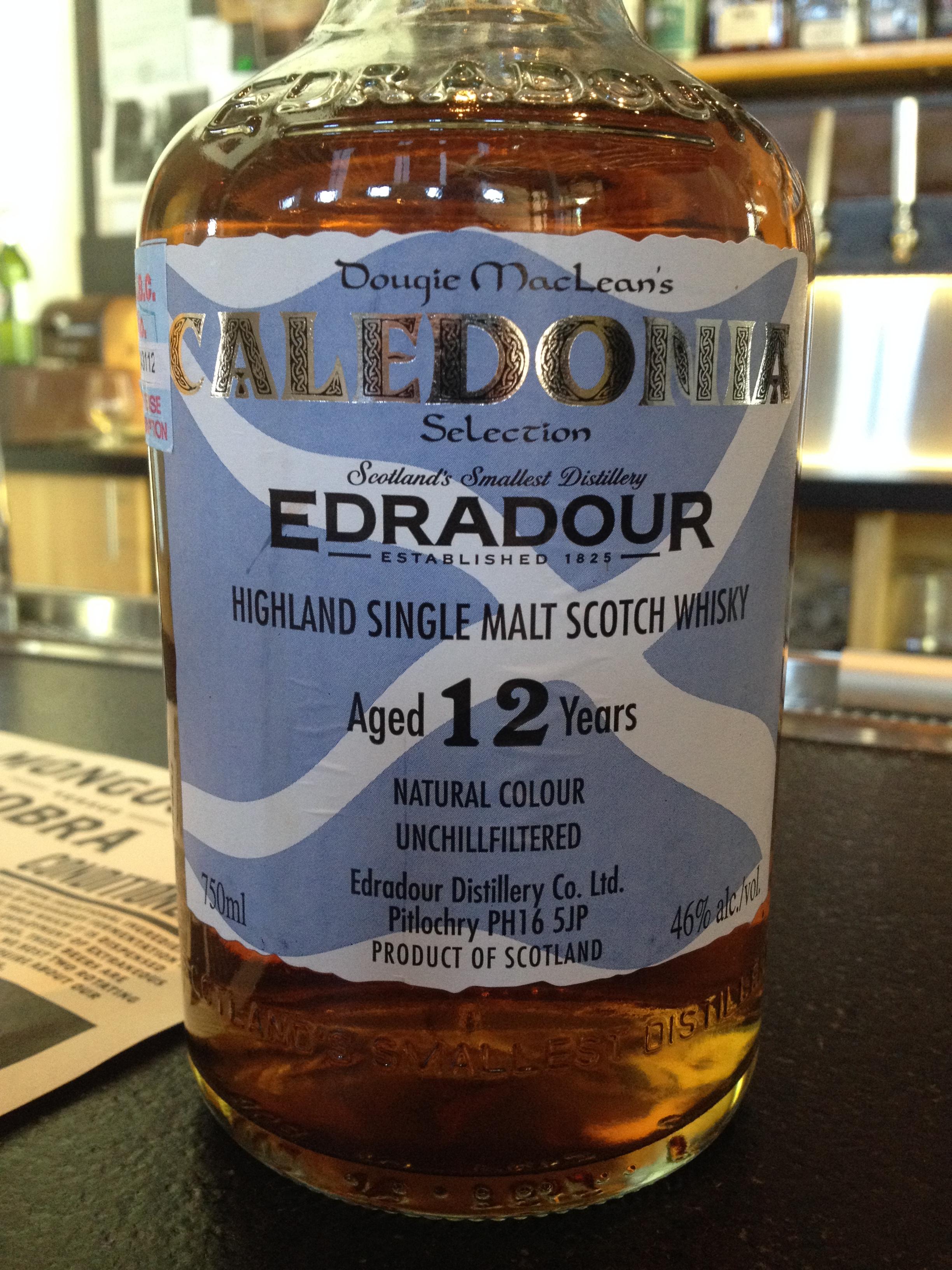 12 Year Old   46% ABV - Distillery   Edradour