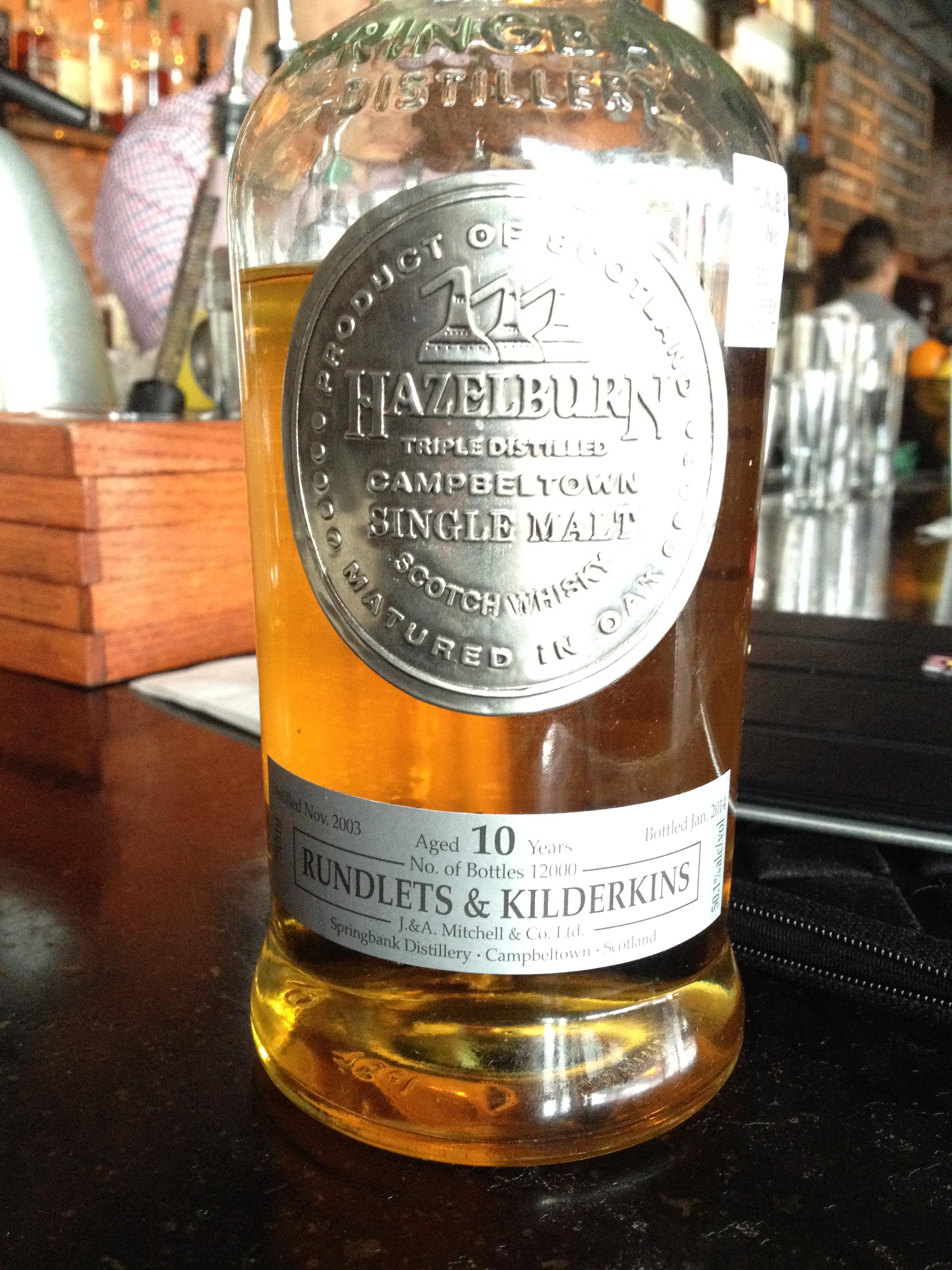 10 Year Old | 50.1% ABV - Distillery | Springbank