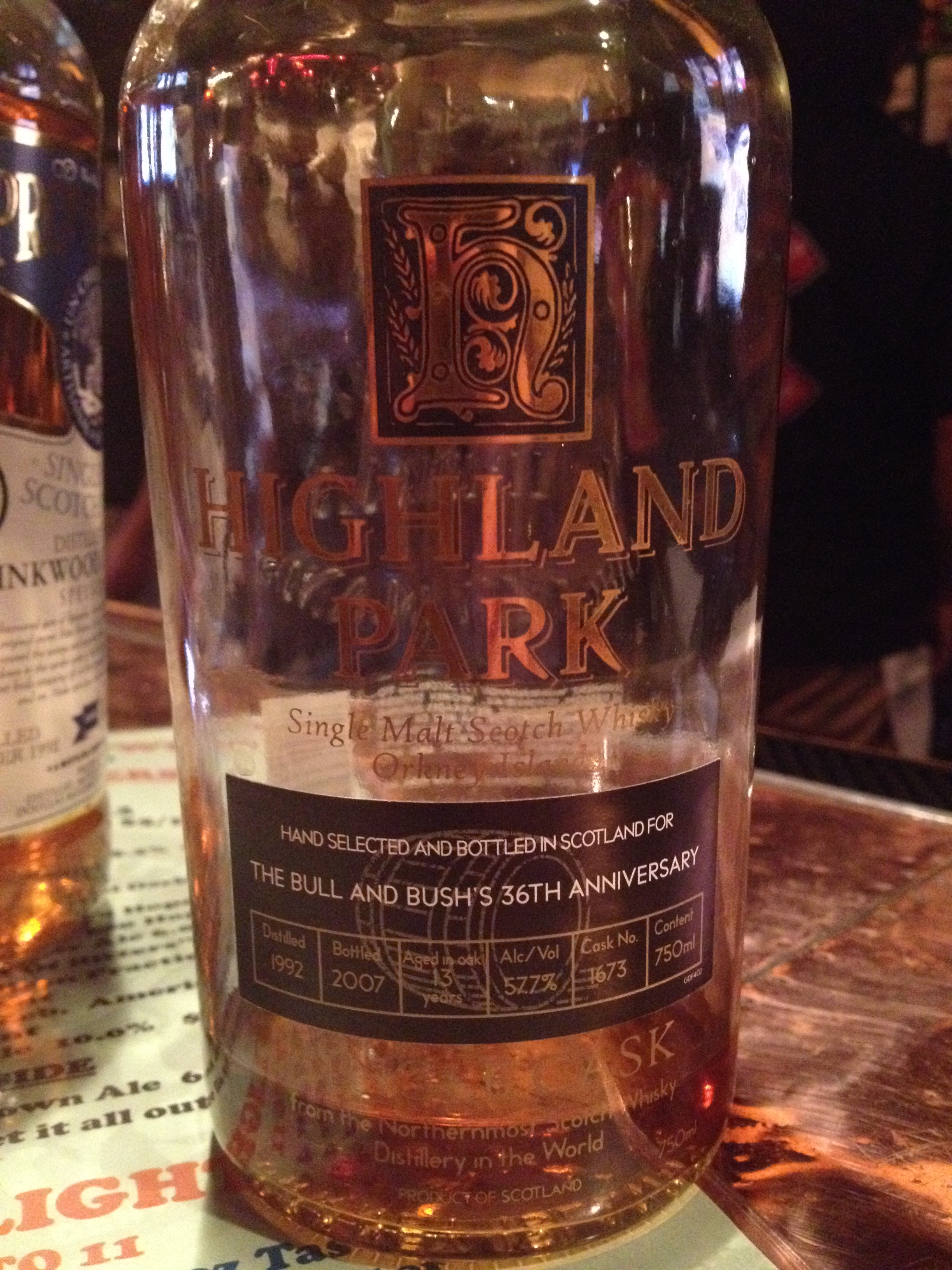 13 Year Old | 57.7% ABV - Distillery | Highland Park