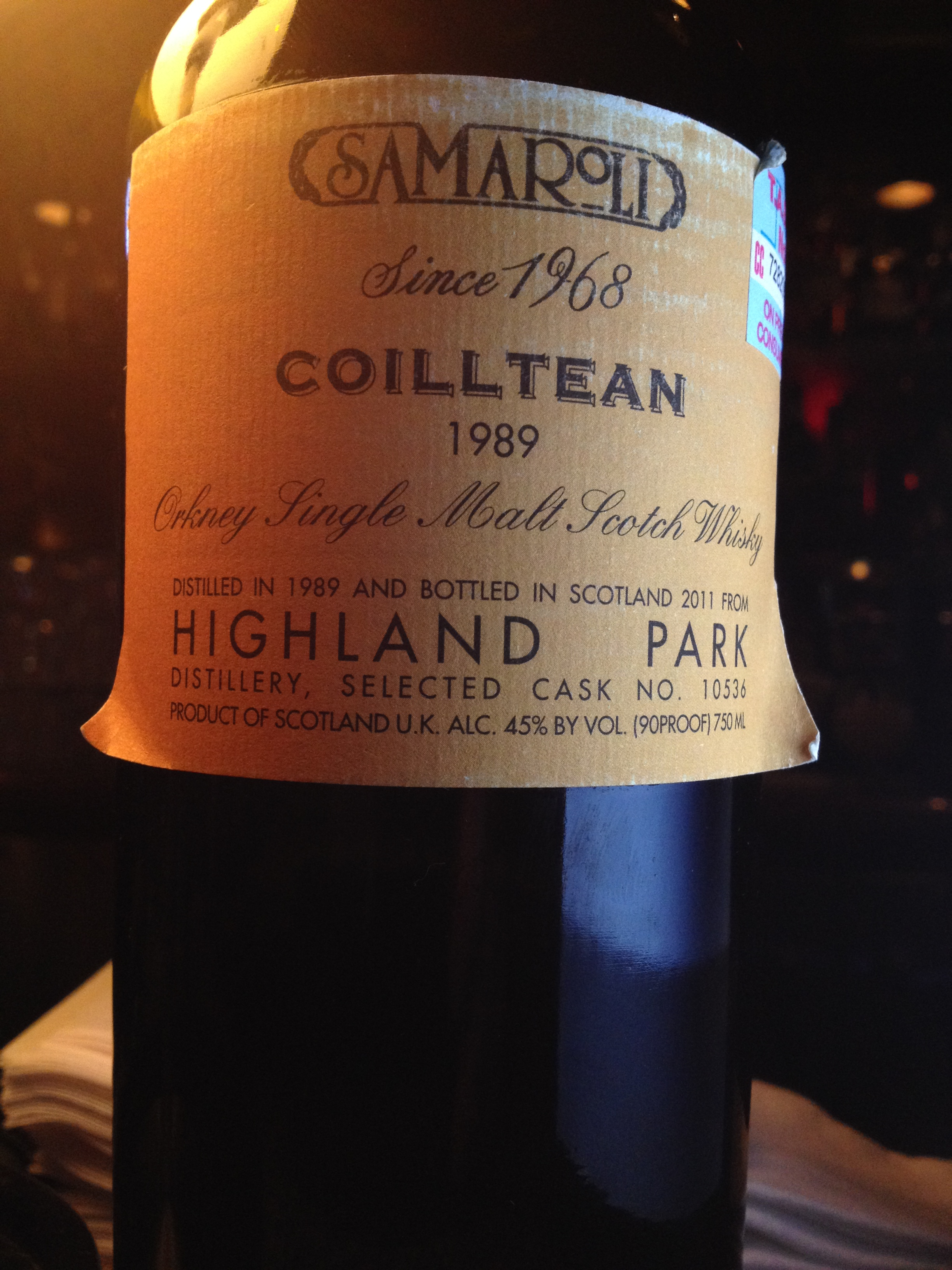 22 Year Old | 45% ABV - Distillery | Highland Park