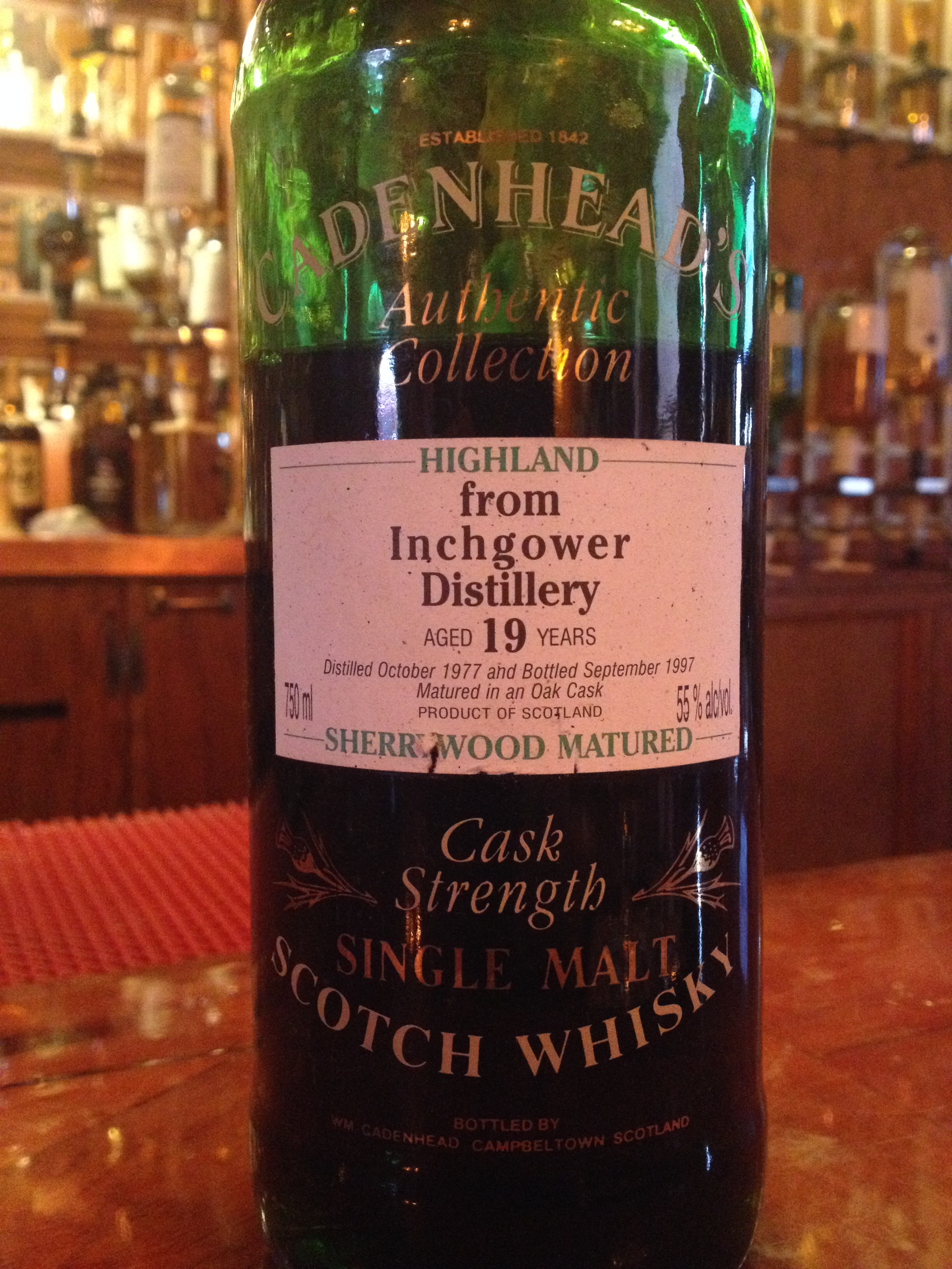19 Year Old | 55% ABV - Distillery | Inchgower