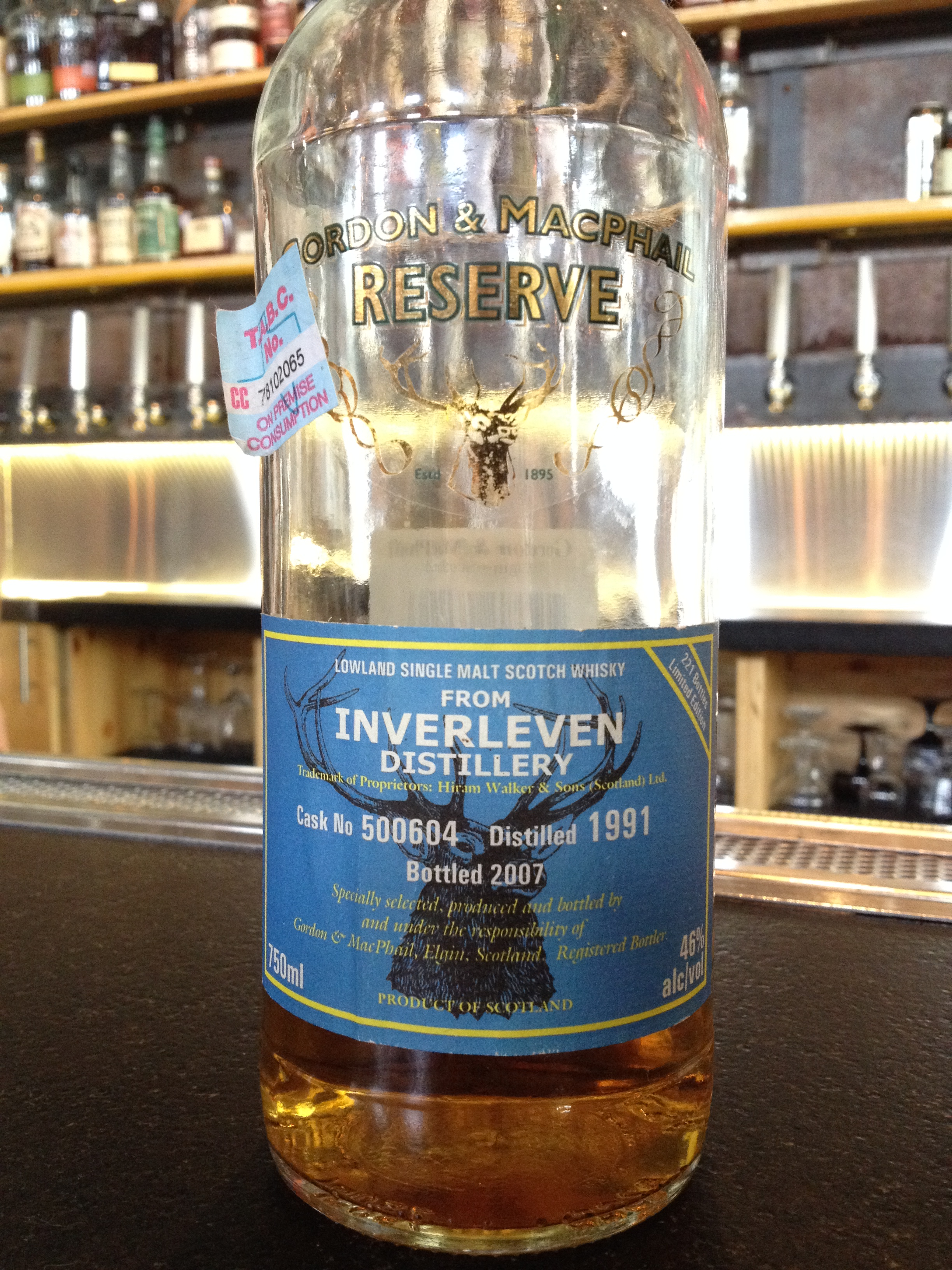 16 Year Old | 46% ABV - Distillery | Inverleven