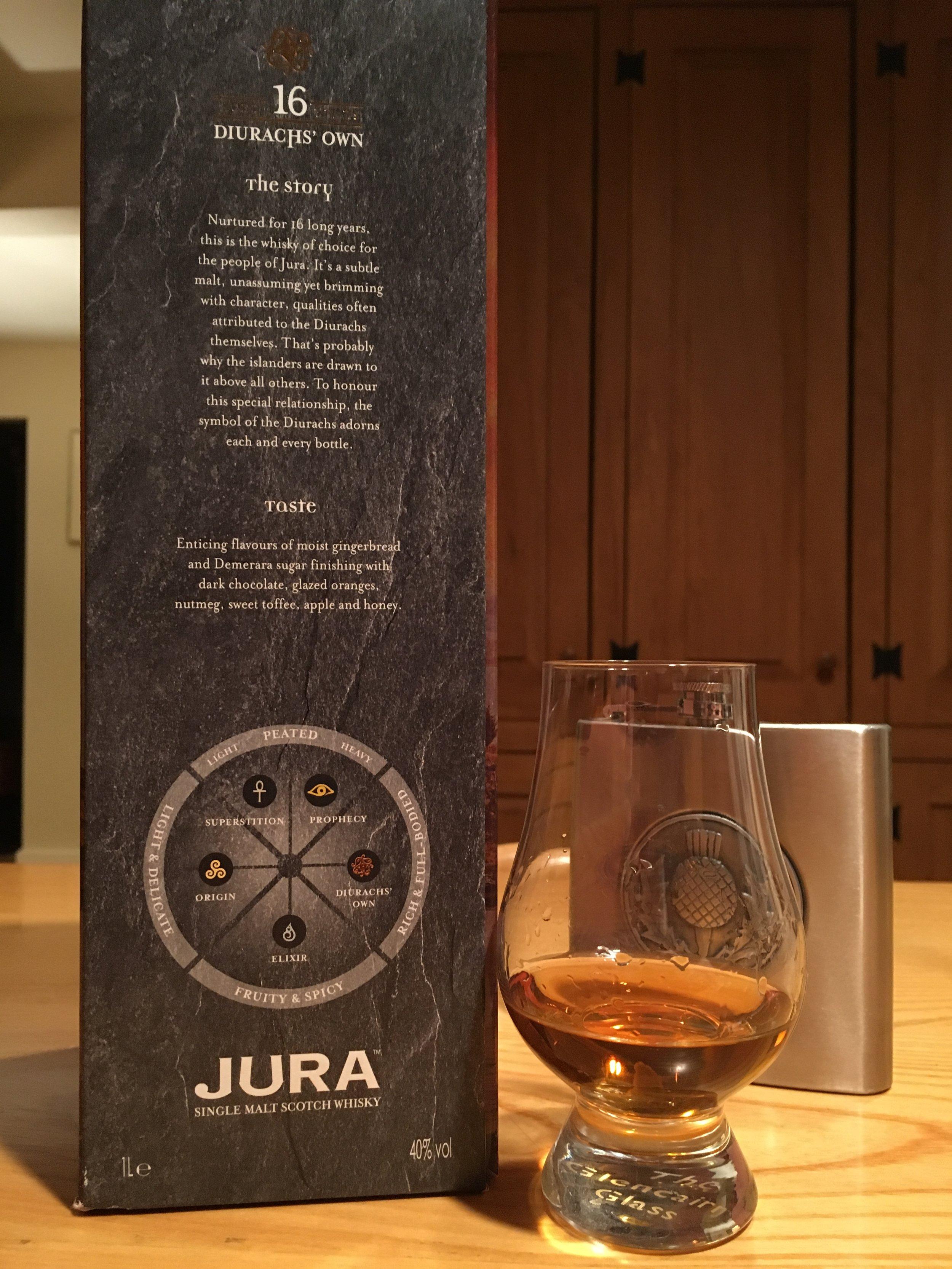 16 Year Old | 40% ABV - Distillery | Jura