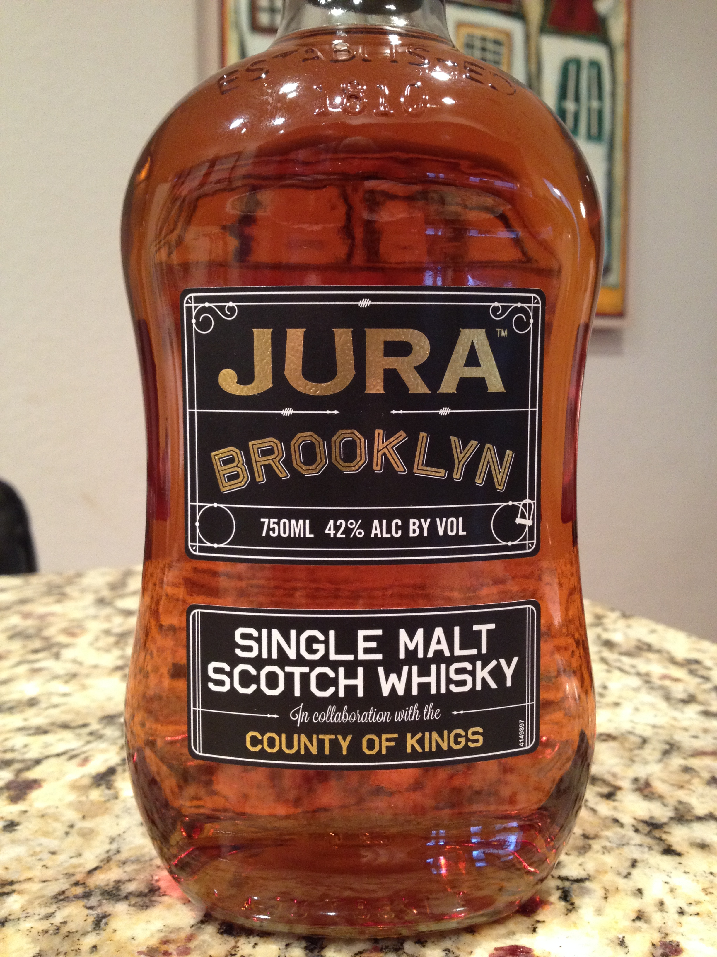 NAS   42% ABV - Distillery   Jura