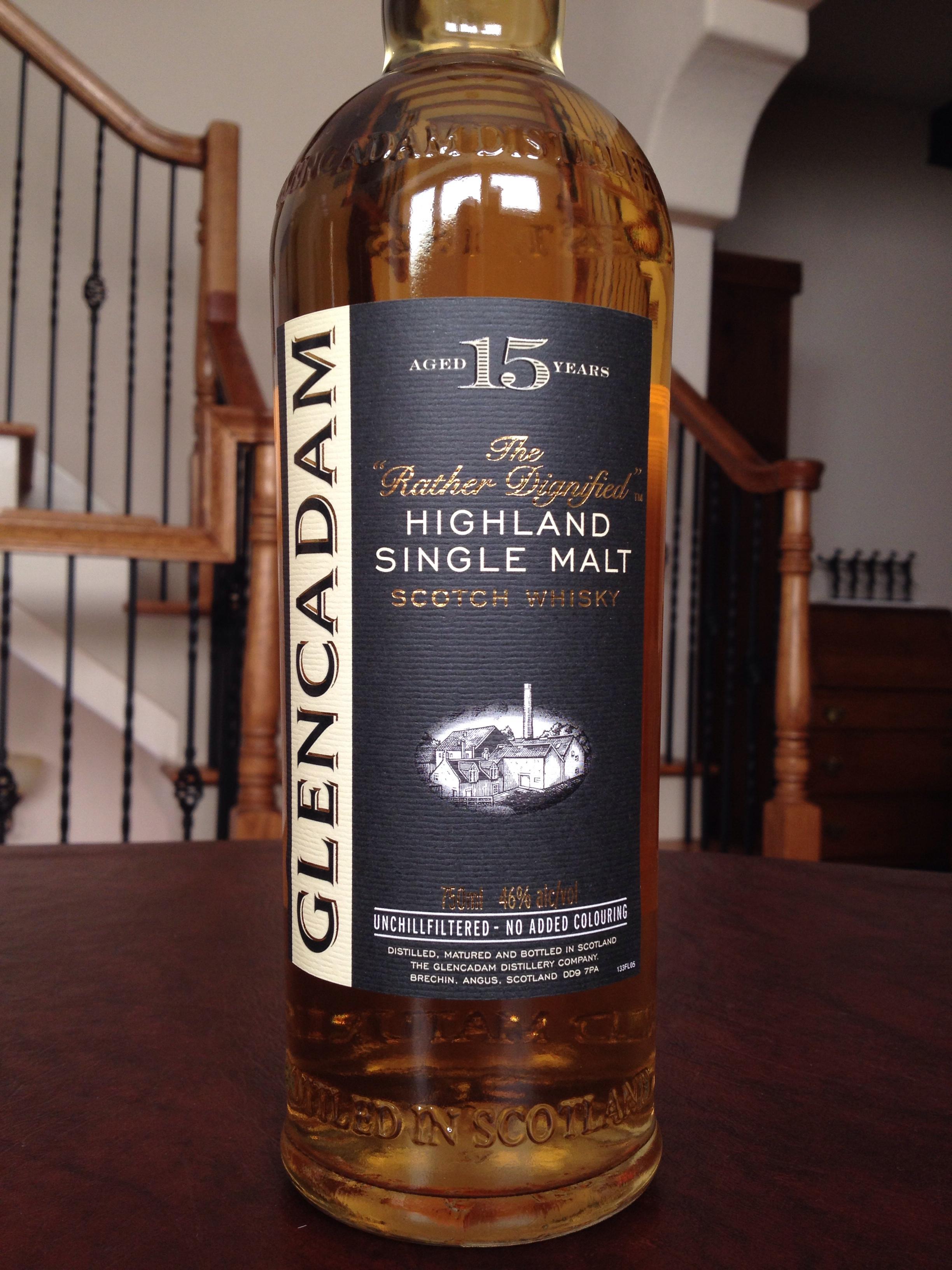 15 Year Old   46% ABV - Distillery   Glencadam