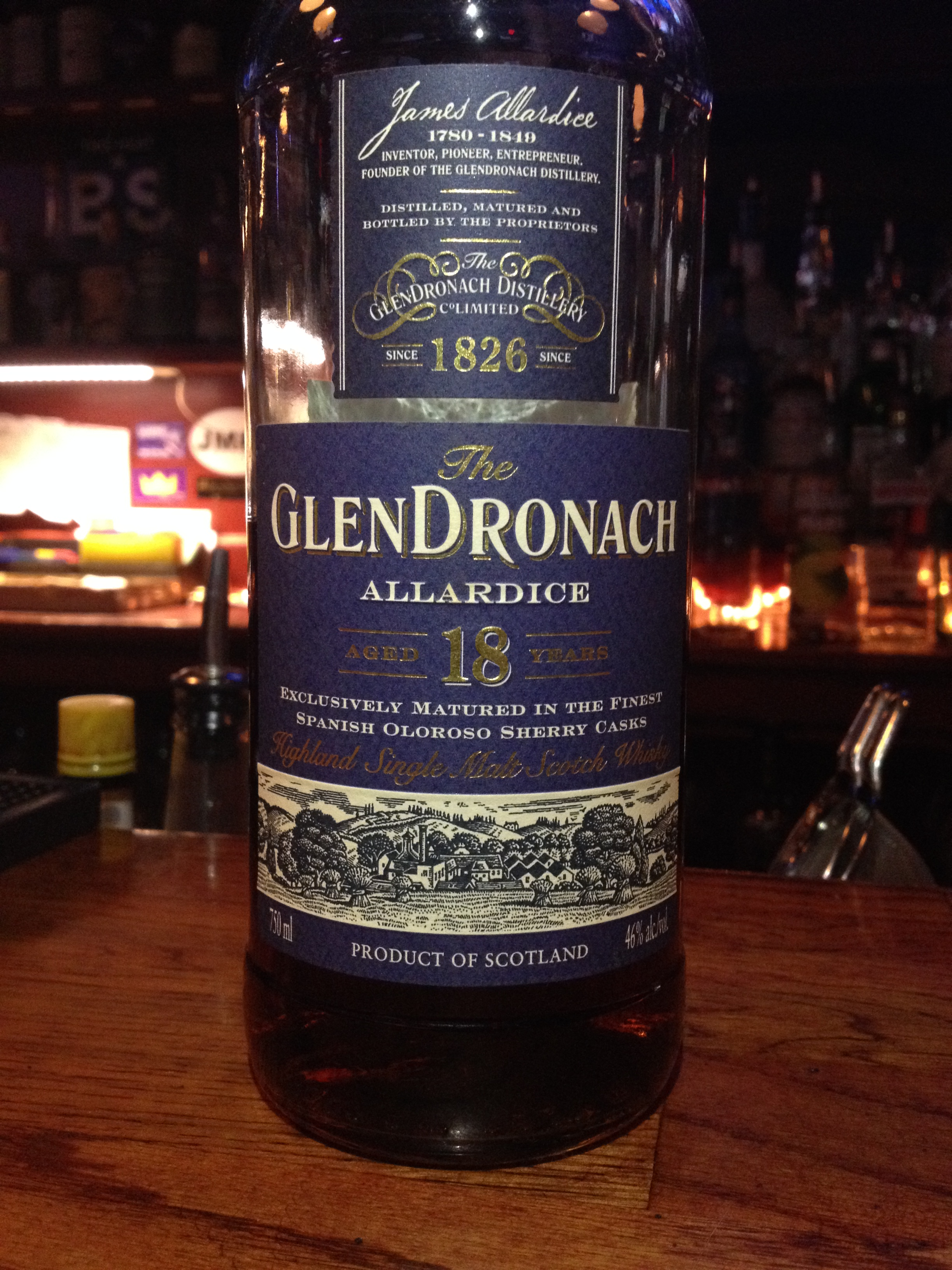 18 Year Old | 46% ABV - Distillery | GlenDronach
