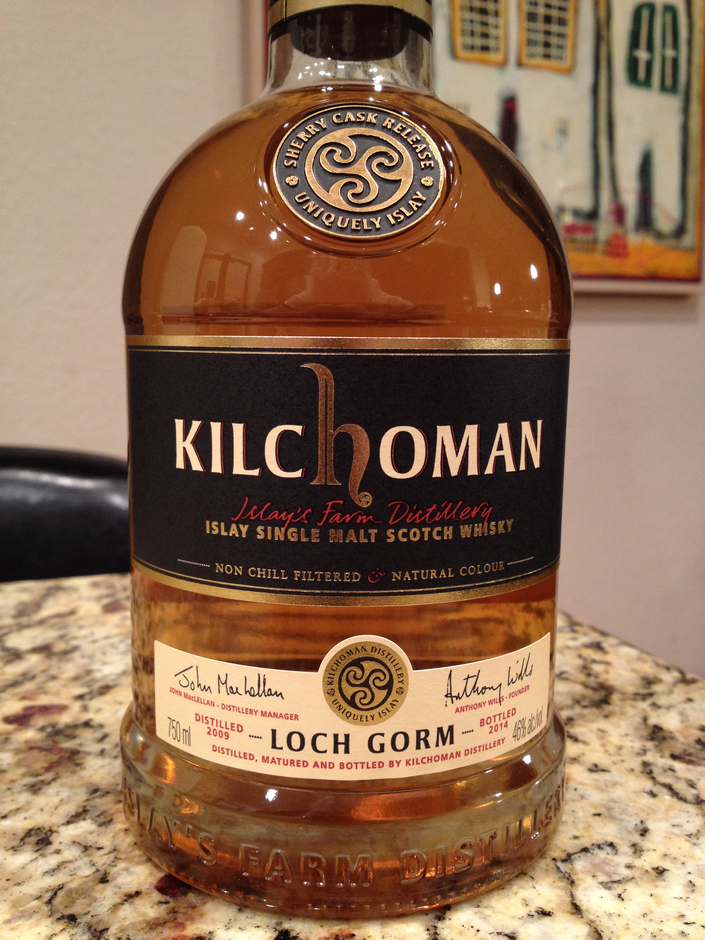5 Year Old | 46% ABV - Distillery | Kilchoman